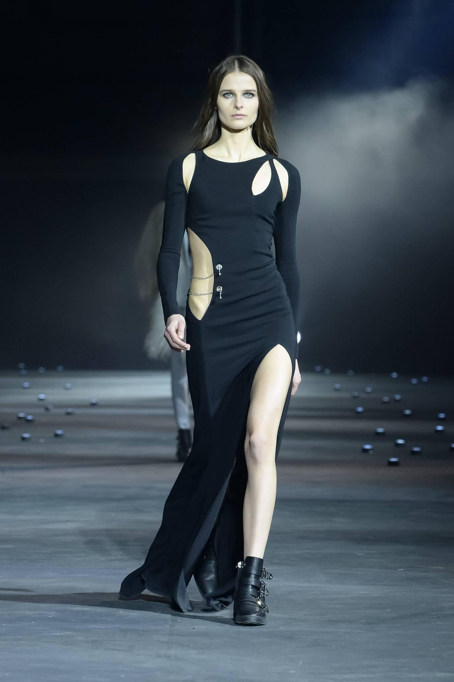 Catwalk Philipp Plein Fall Winter 2015 16 Women's Collection Milan Fashion Week