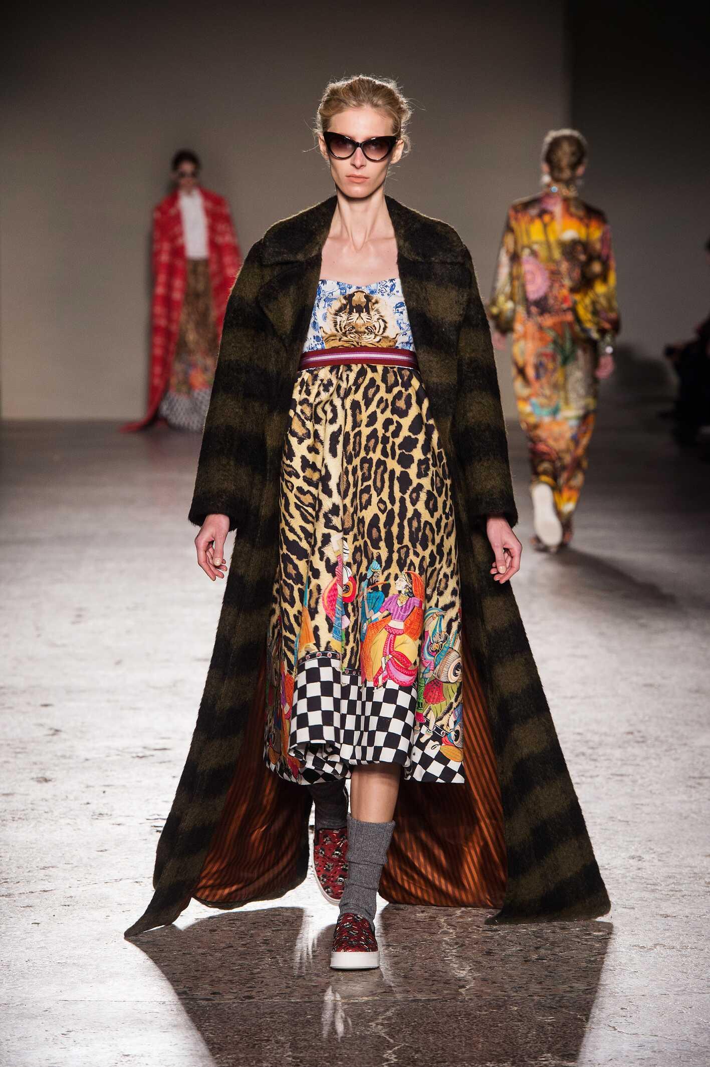 Catwalk Stella Jean Collection Fashion Show Winter 2015