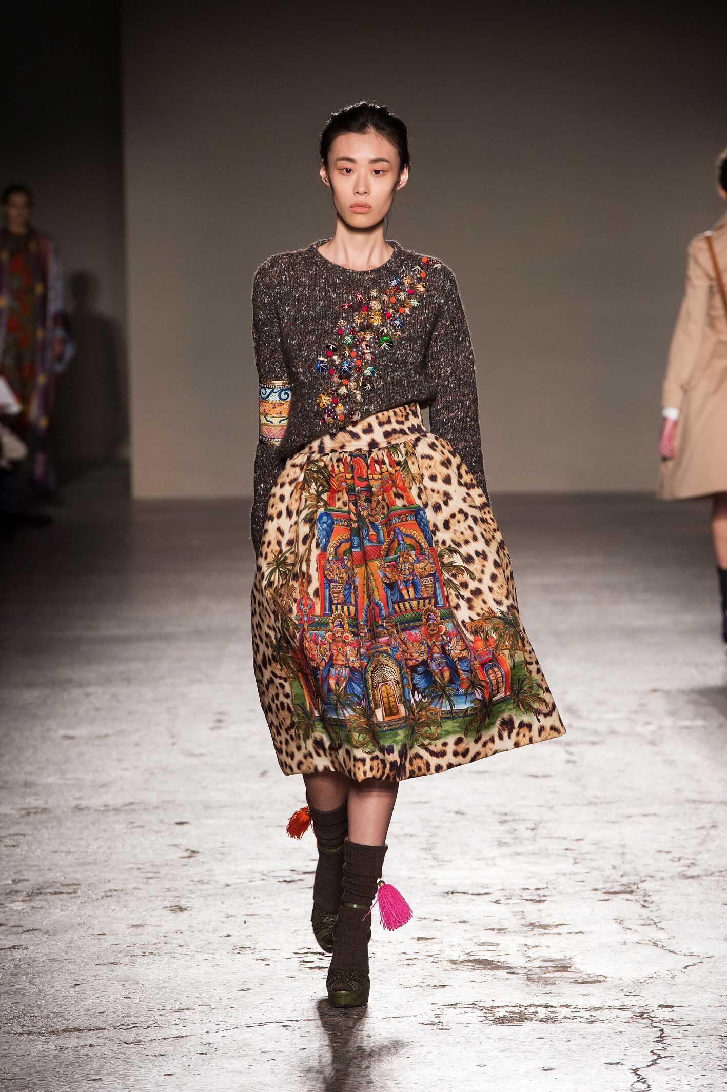 Catwalk Stella Jean Womenswear Collection Winter 2015