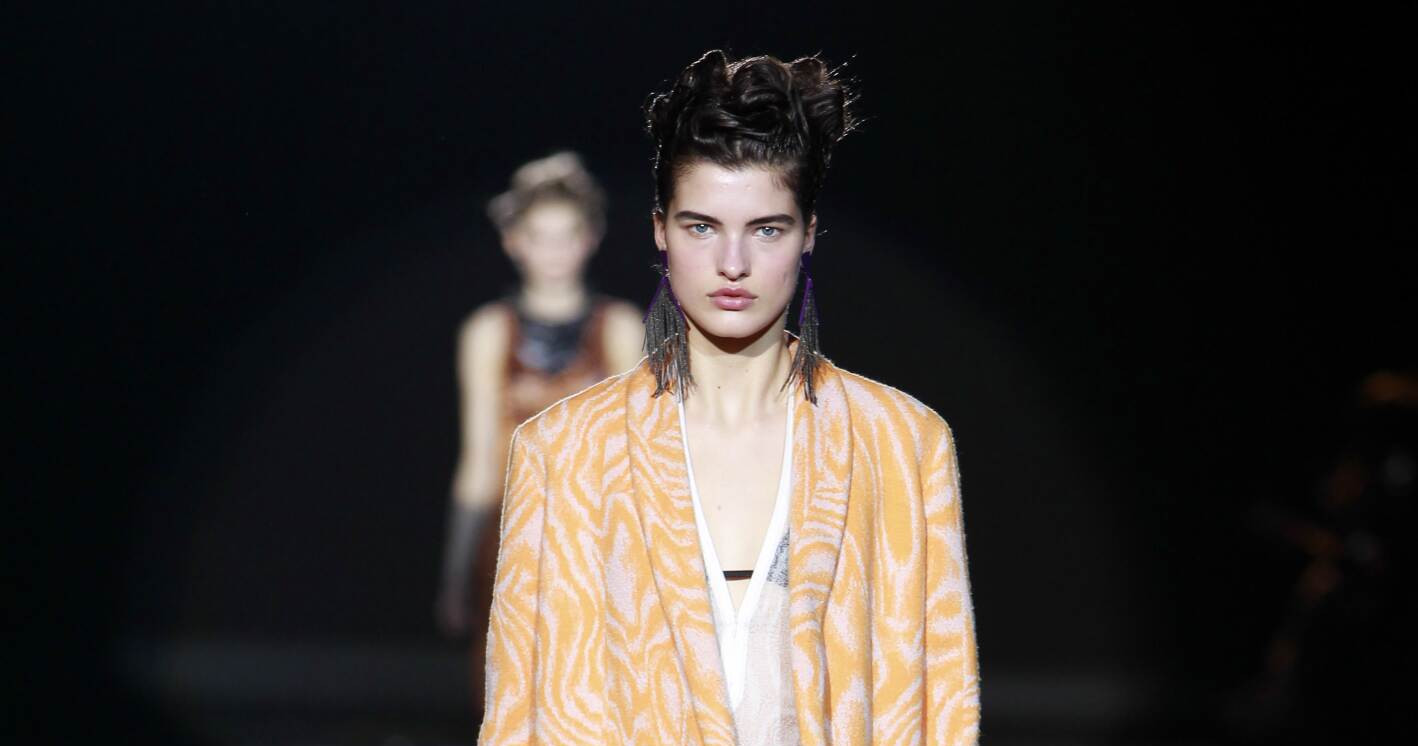Fall Fashion Woman Missoni Collection 2015