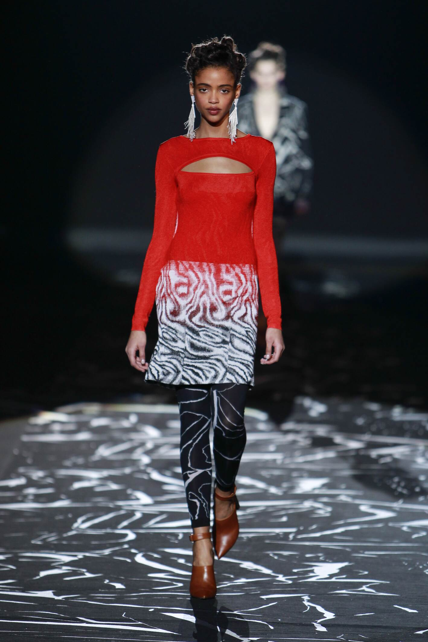 Fall Missoni Collection Fashion Women Model