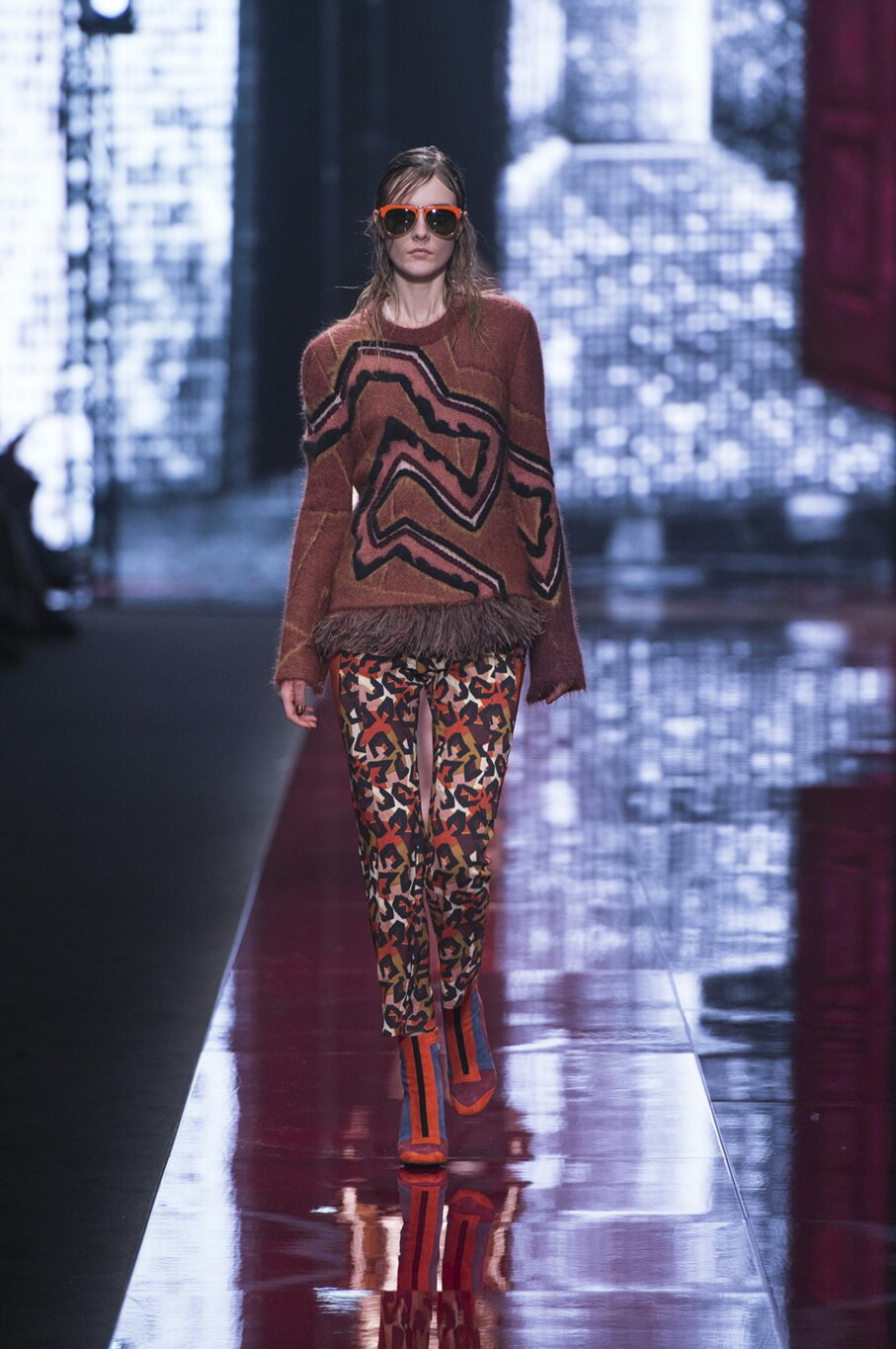 Just Cavalli Collection Woman Milan Fashion Week