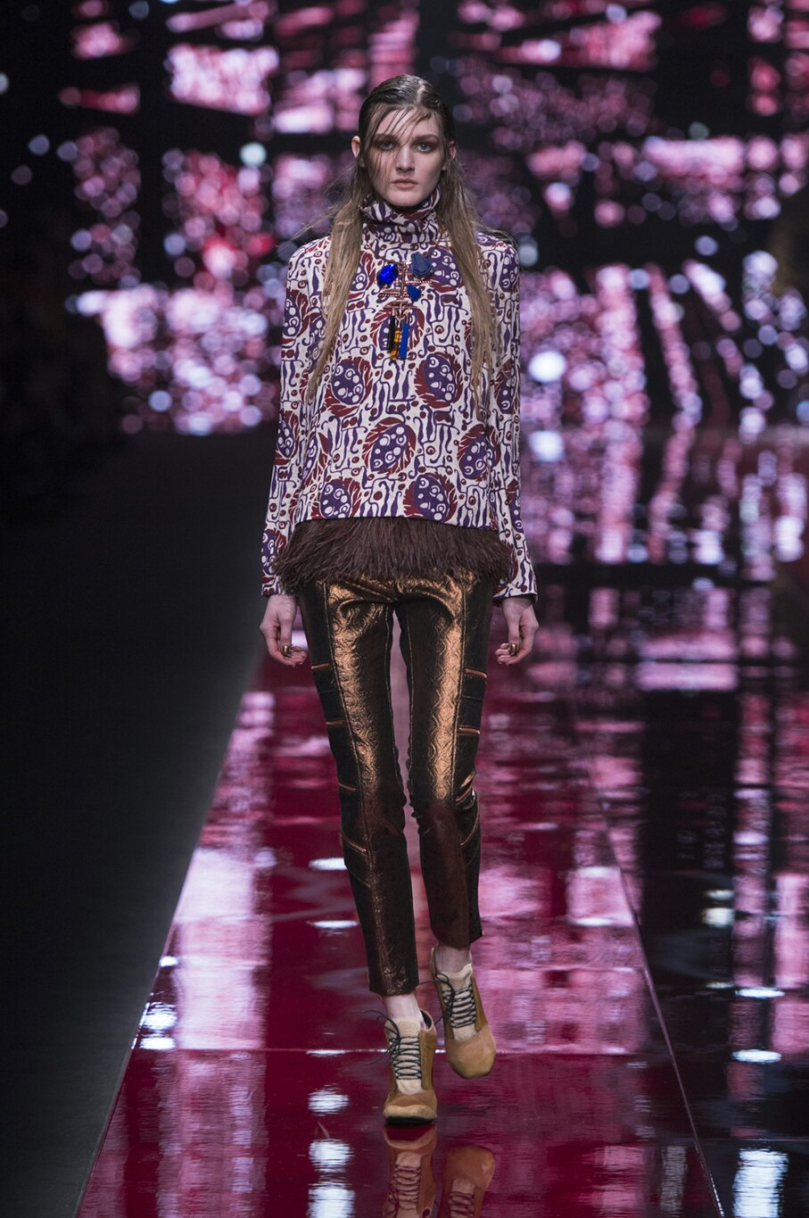Just Cavalli Fall Winter 2015 16 Women's Collection Milan Fashion Week