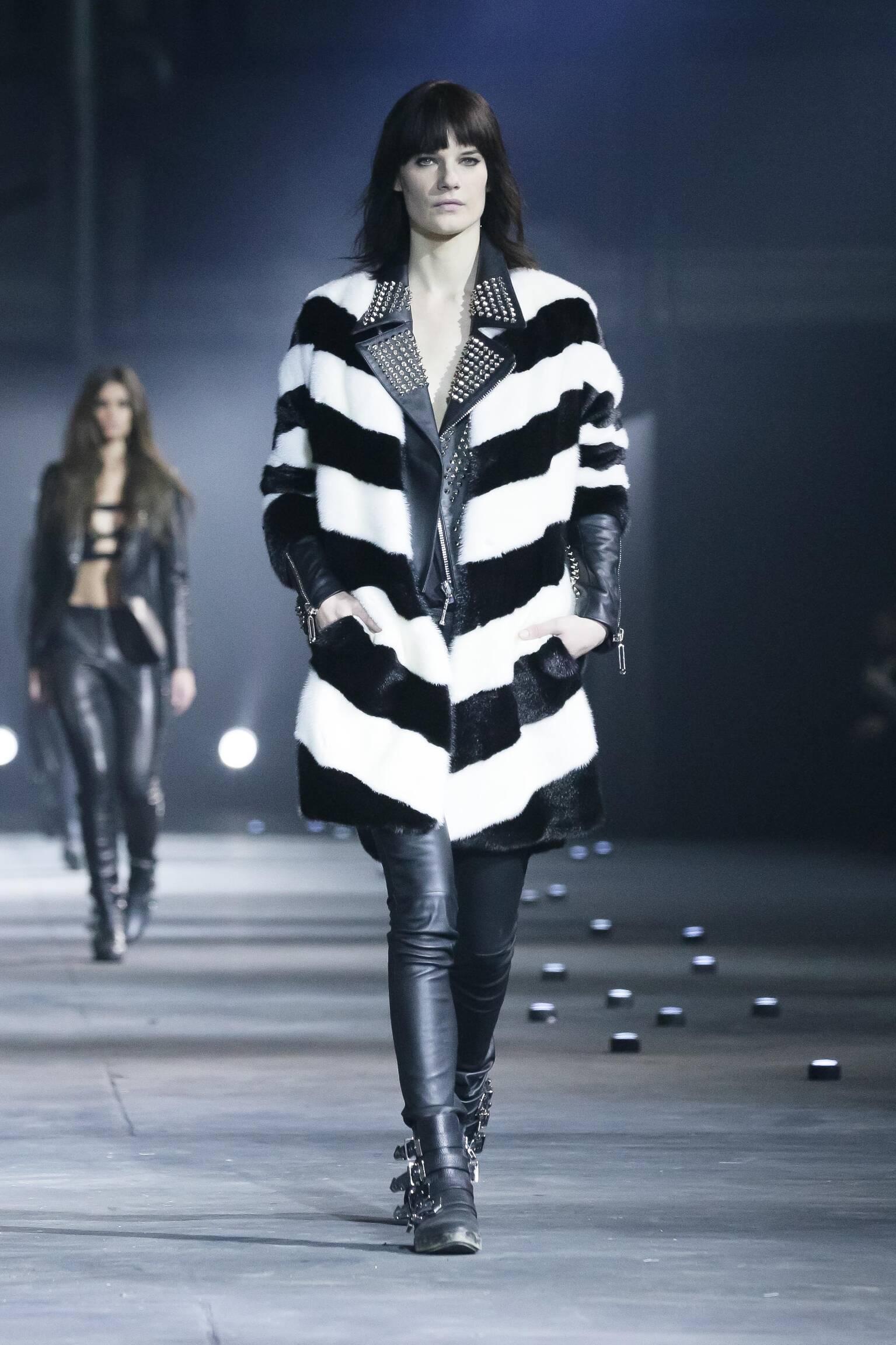 Philipp Plein Fall Winter 2015 16 Womens Collection Milan Fashion Week