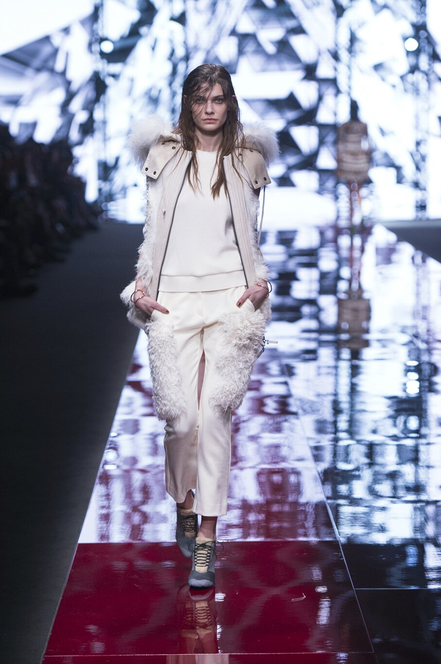 Runway Just Cavalli Fall Winter 2015 16 Women's Collection Milan Fashion Week