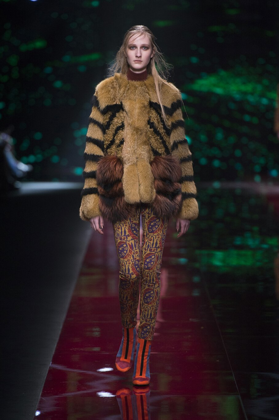 Runway Just Cavalli Fashion Show Winter 2015
