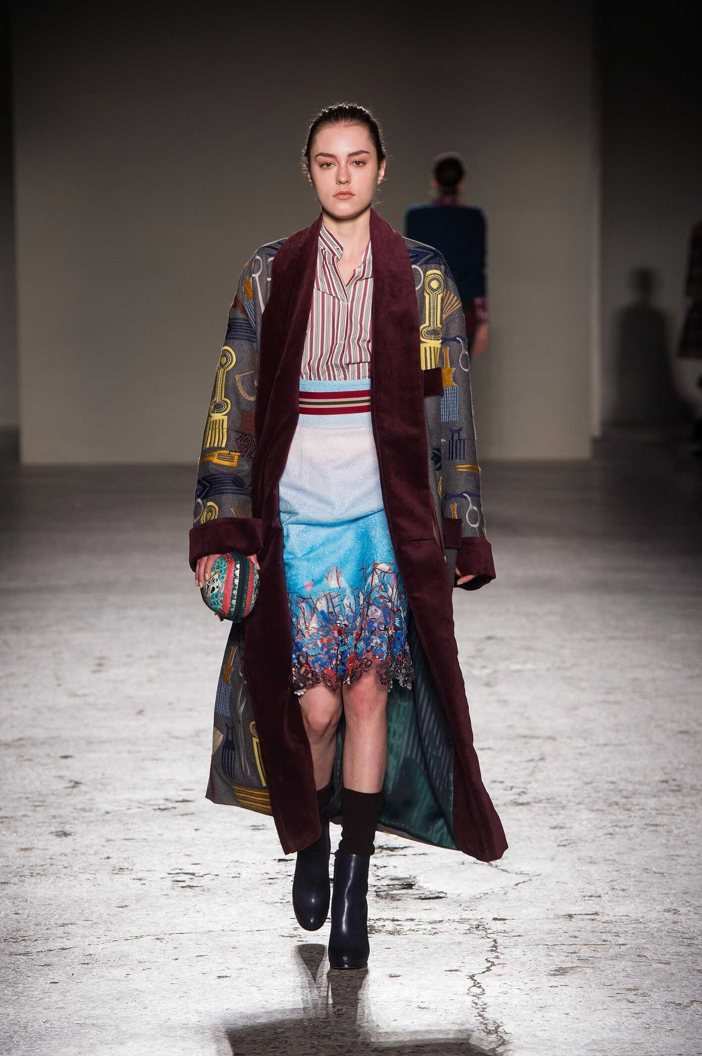 Runway Stella Jean Fall Winter 2015 16 Women's Collection Milan Fashion Week