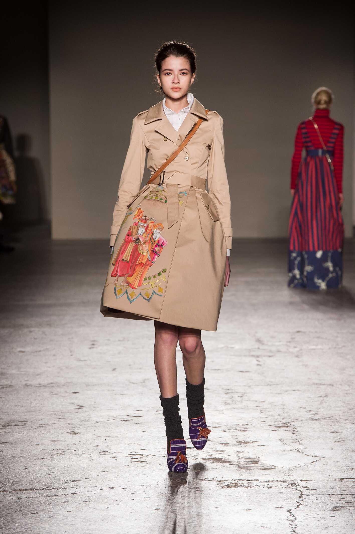 Stella Jean Collection Fall 2015 Catwalk