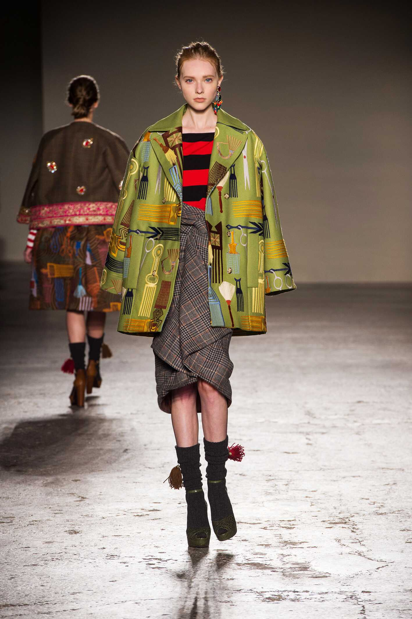 Stella Jean Fall Winter 2015 16 Womens Collection Milan Fashion Week