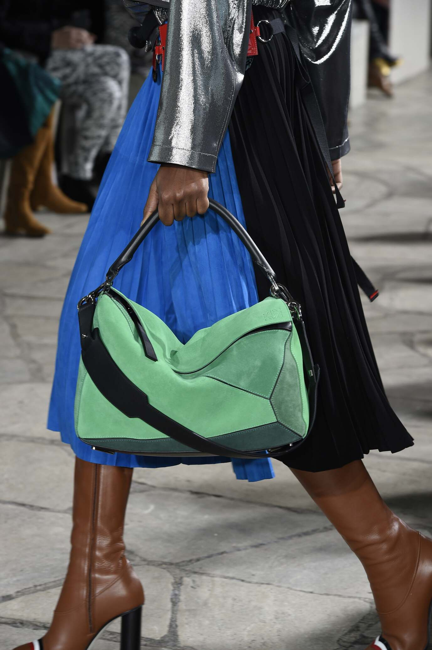 2015 16 Loewe Bag Detail Fall Winter Womenswear Collection Paris Fashion Week Fashion Show