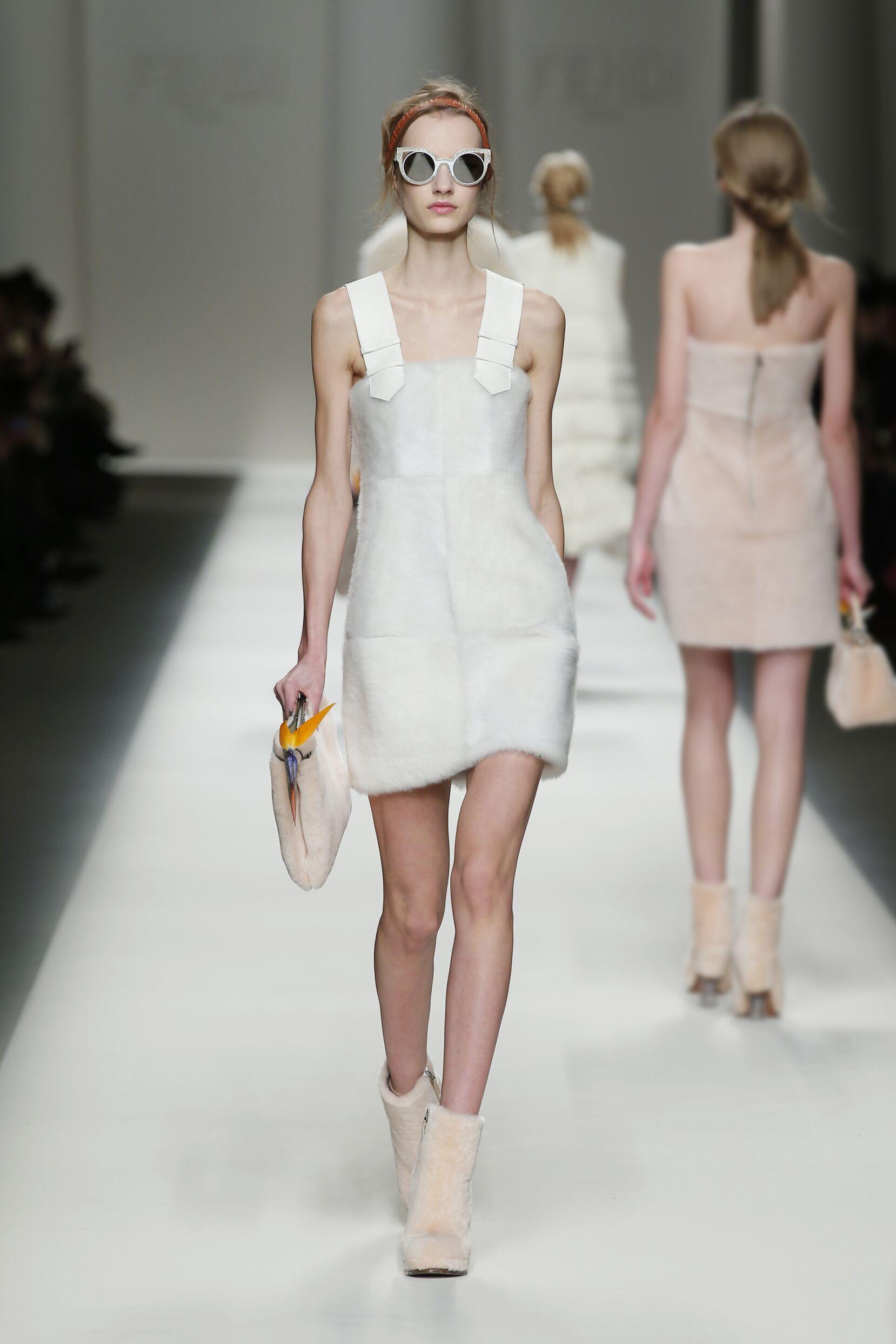 2015 2016 Fall Fashion Woman Fendi Collection