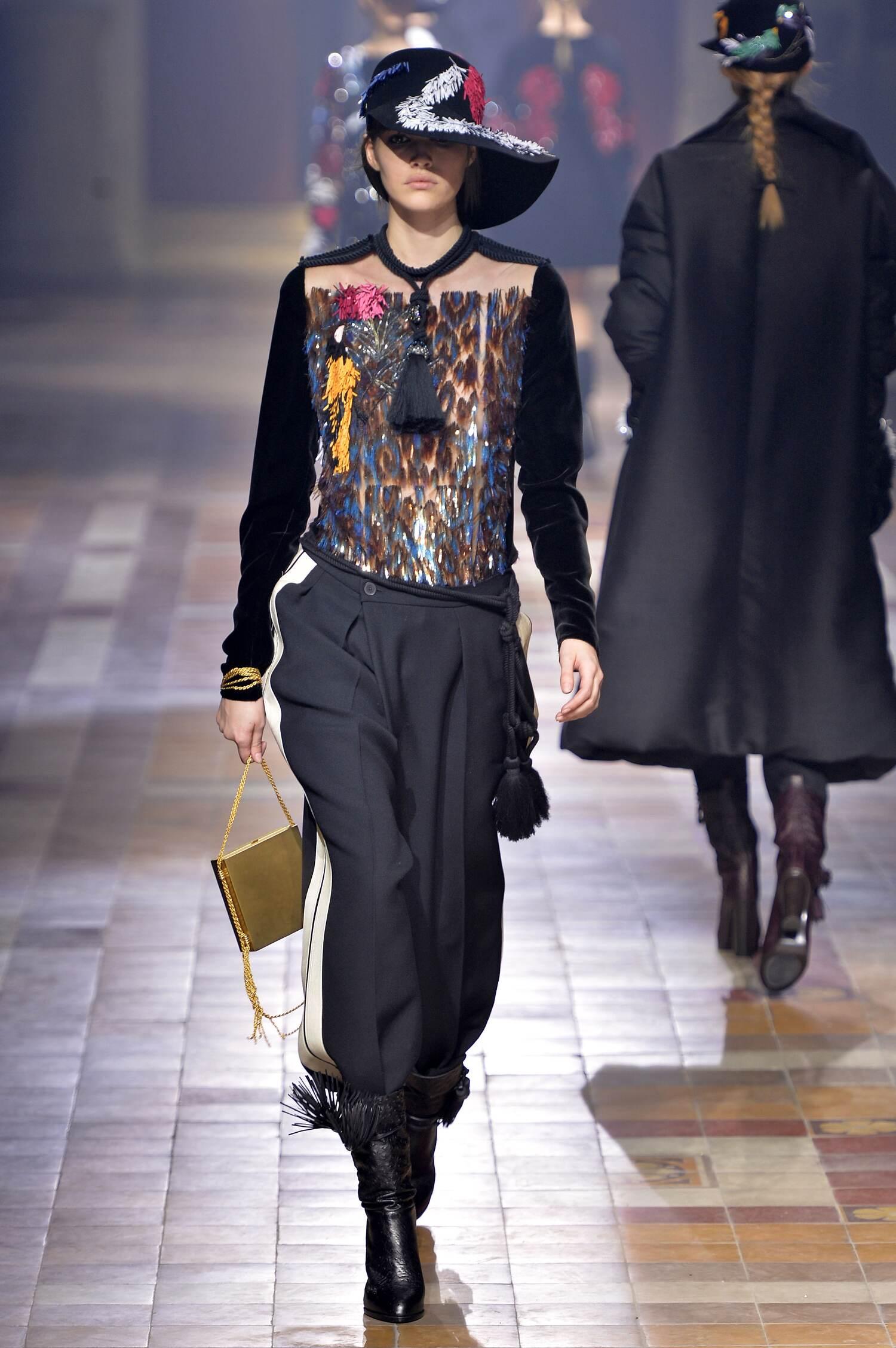 2015 2016 Fall Fashion Woman Lanvin Collection