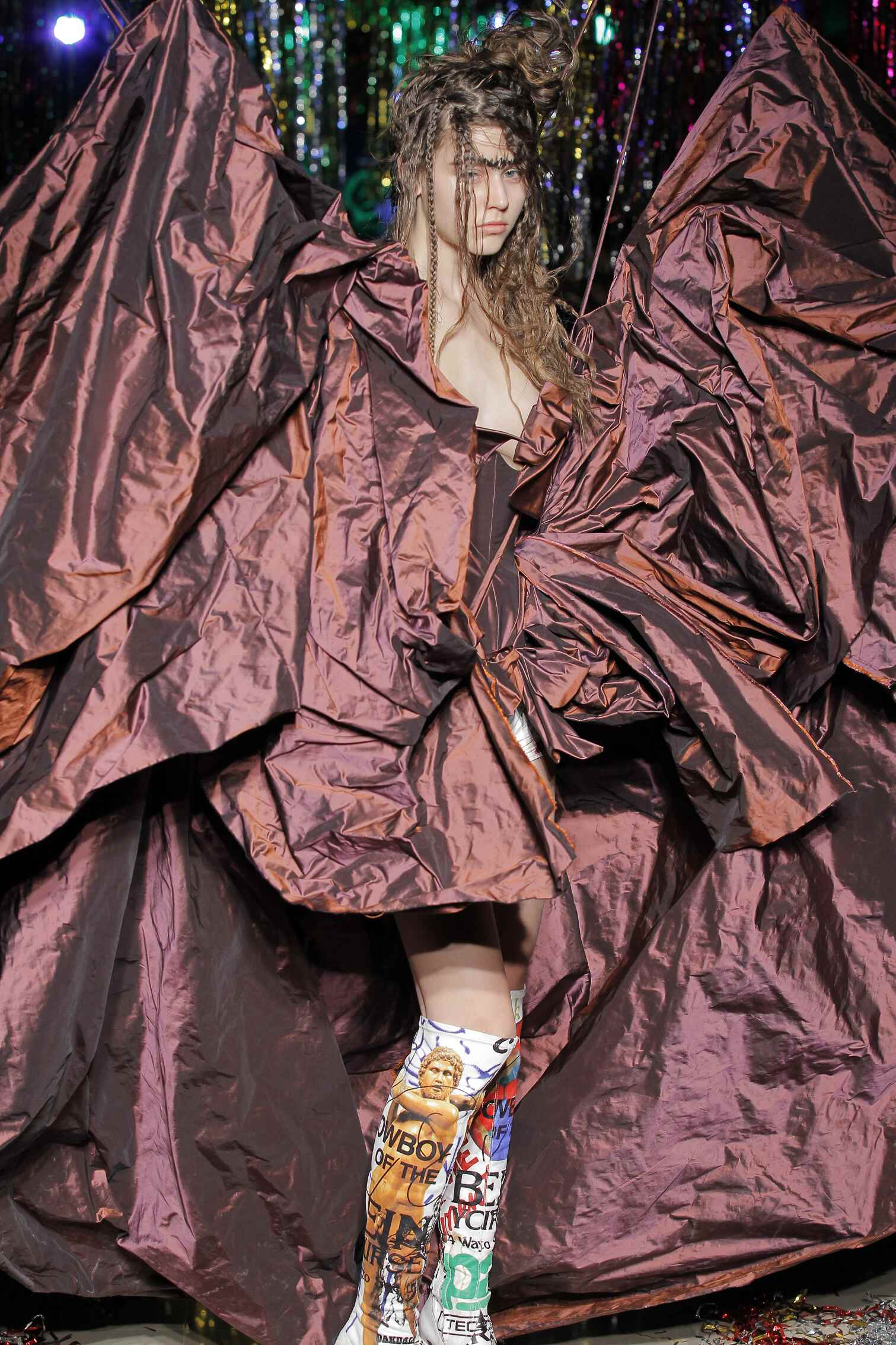 2015 2016 Fall Fashion Woman Vivienne Westwood Gold Label Collection