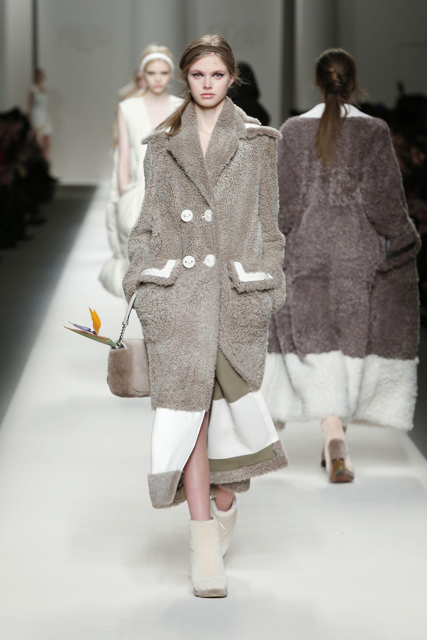 2015 Fall Fashion Woman Fendi Collection