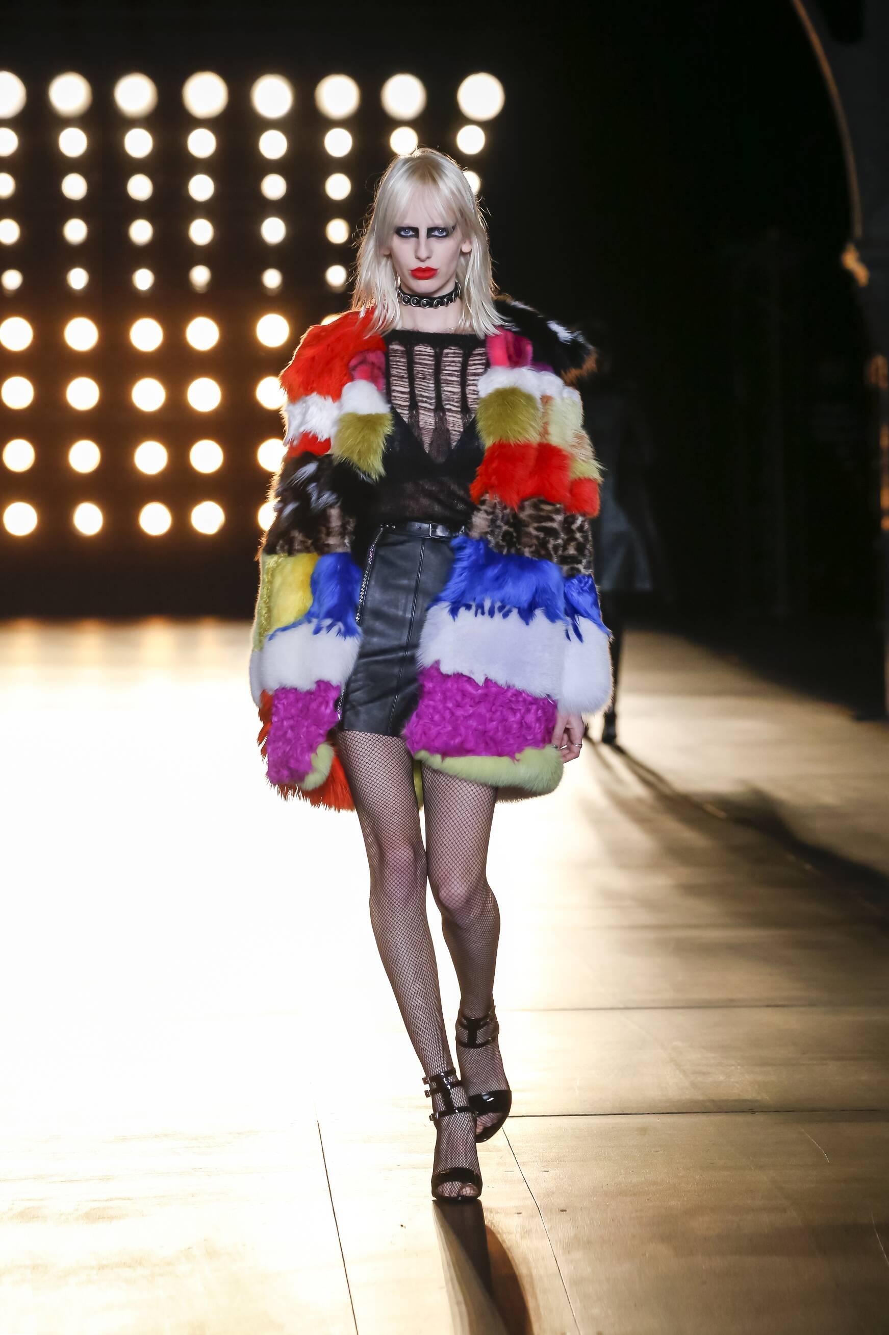 2015 Fall Fashion Woman Saint Laurent Collection
