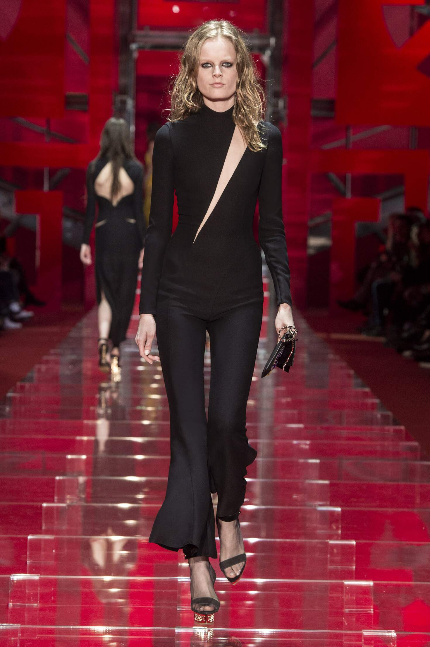 2015 Fall Fashion Woman Versace Collection
