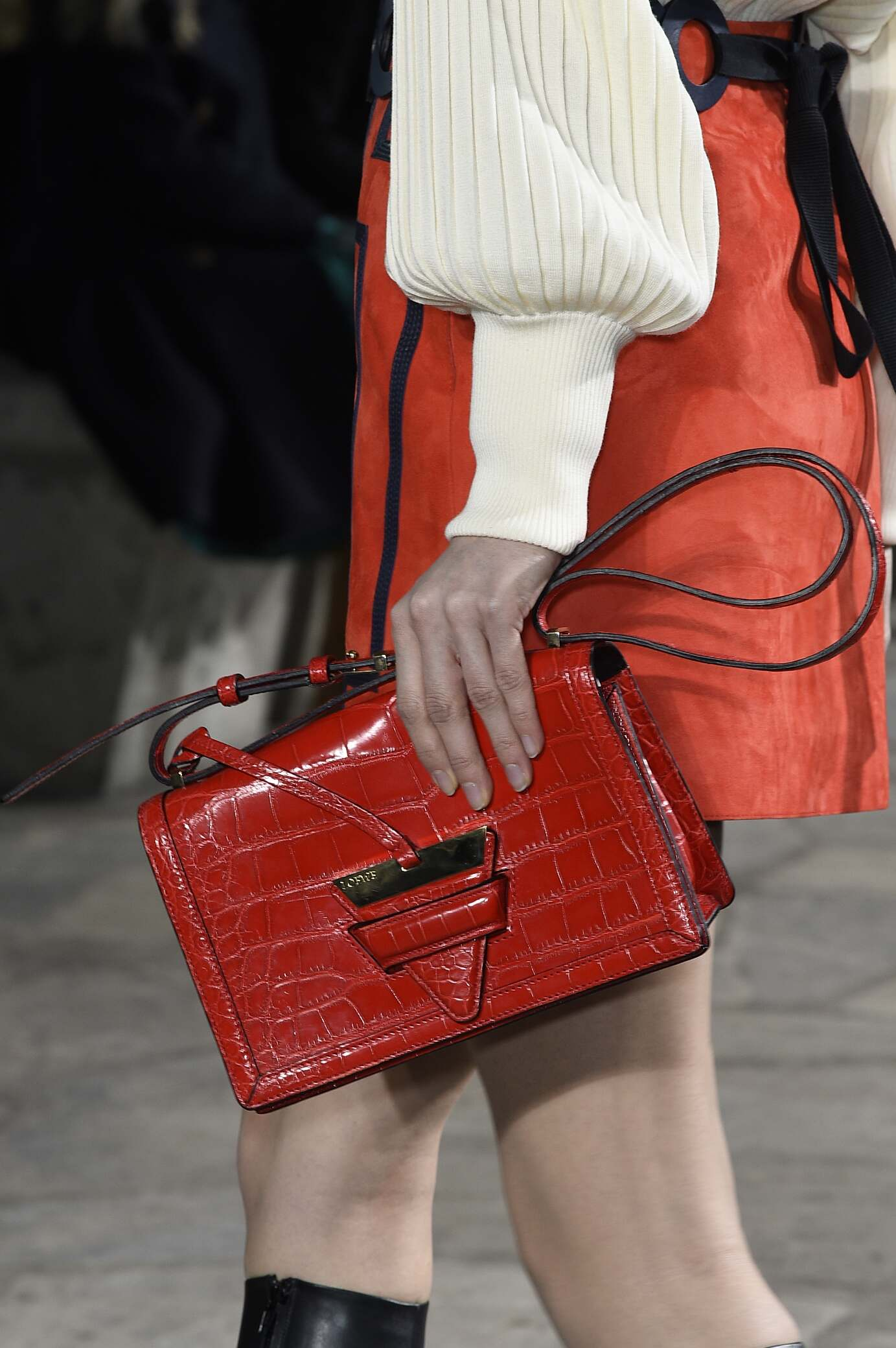2015 Fall Women Fashion Show Loewe Bag Detail Collection