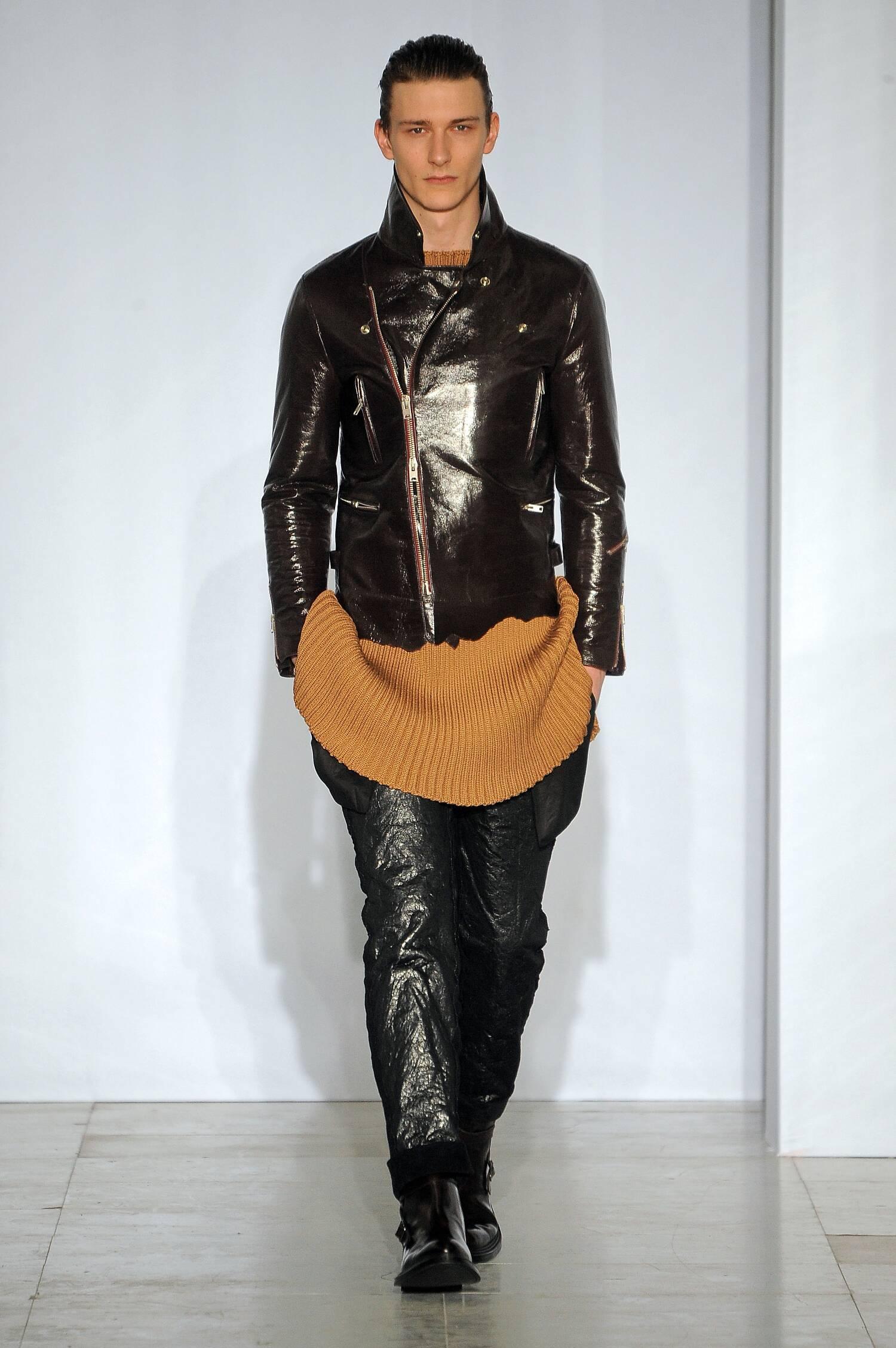 2015 Fashion Man Model Yang Li Collection Catwalk