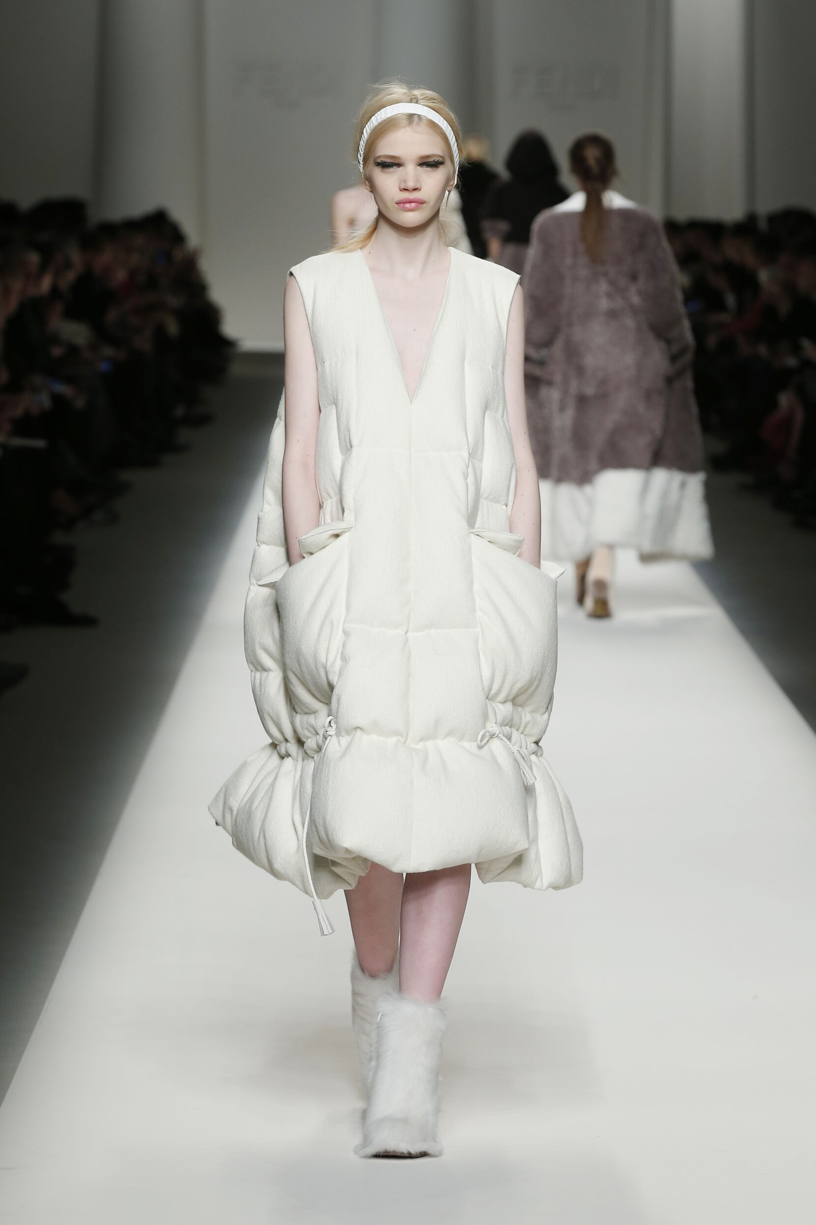 2015 Winter Fashion Show Fendi Collection