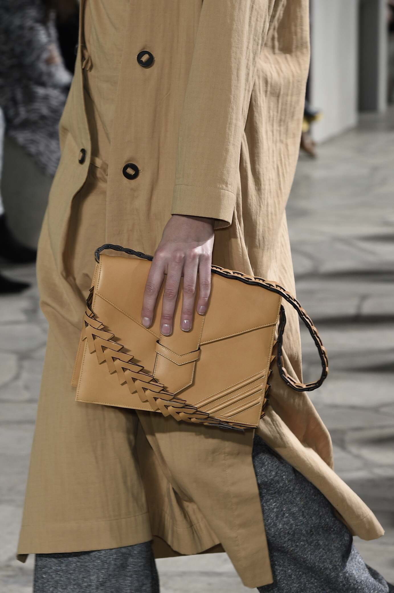 2015 Winter Fashion Show Loewe Bag Detail Collection