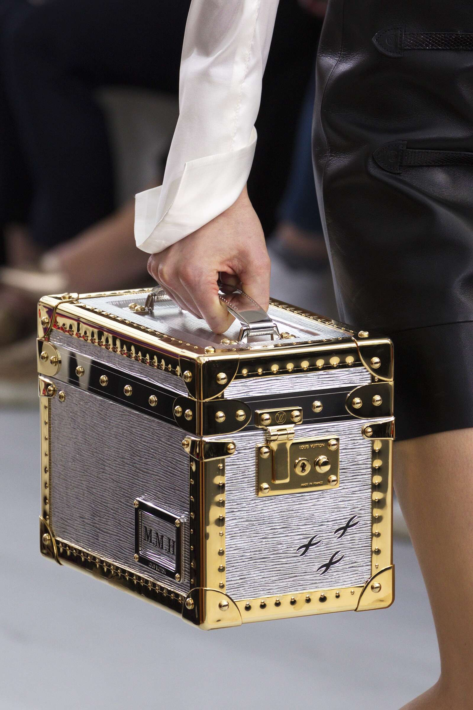 2015 Winter Fashion Show Louis Vuitton Bag Details Collection