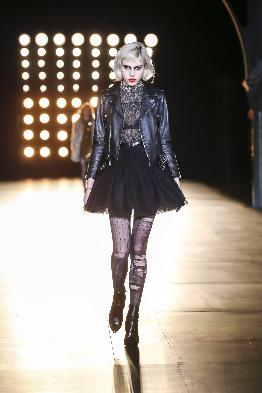 2015 Winter Fashion Show Saint Laurent Collection
