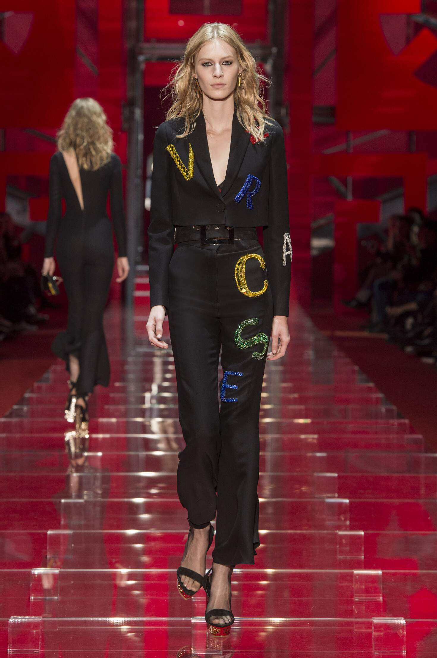 2015 Winter Fashion Show Versace Collection