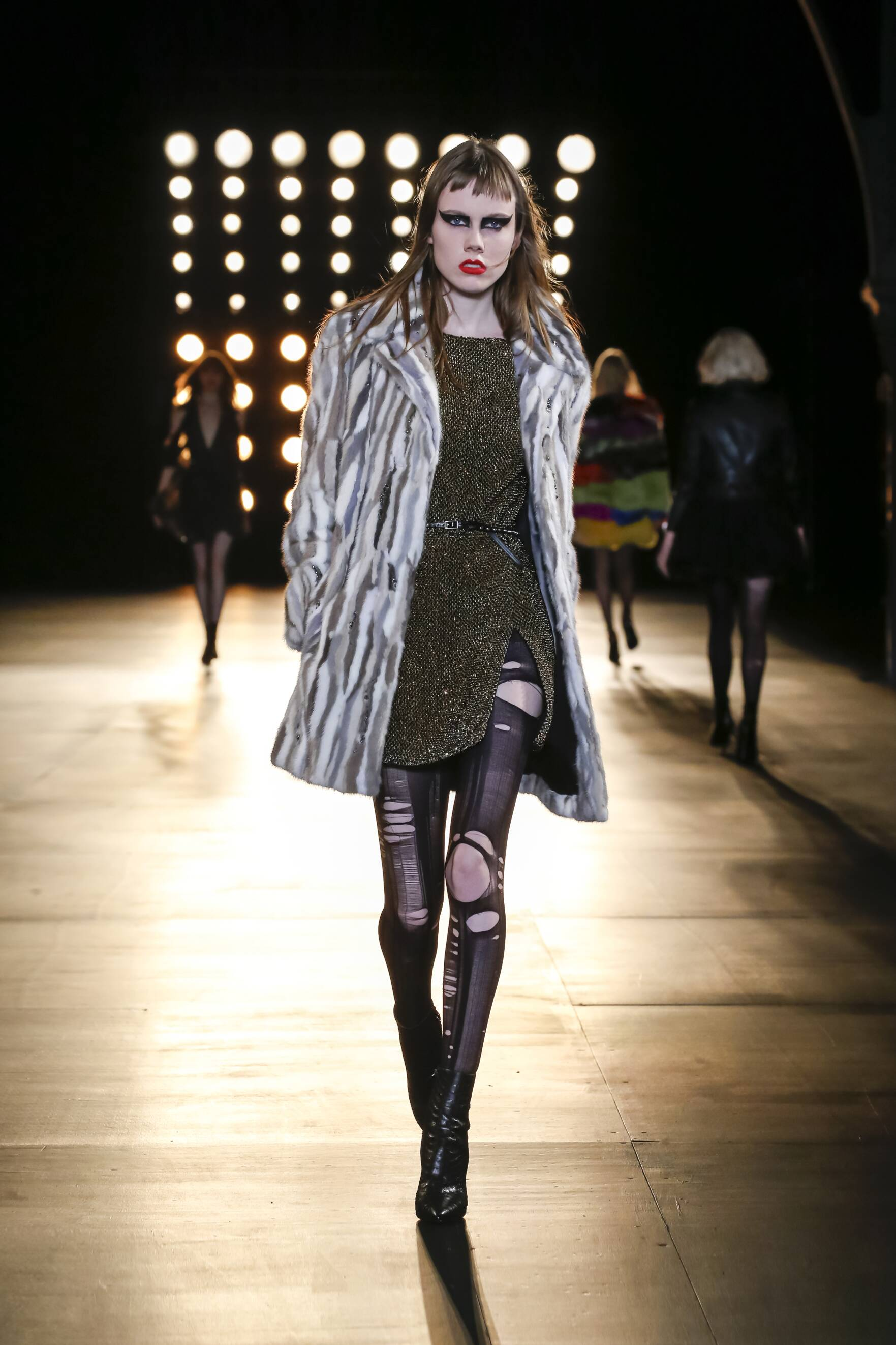 2015 Winter Trends Saint Laurent Collection