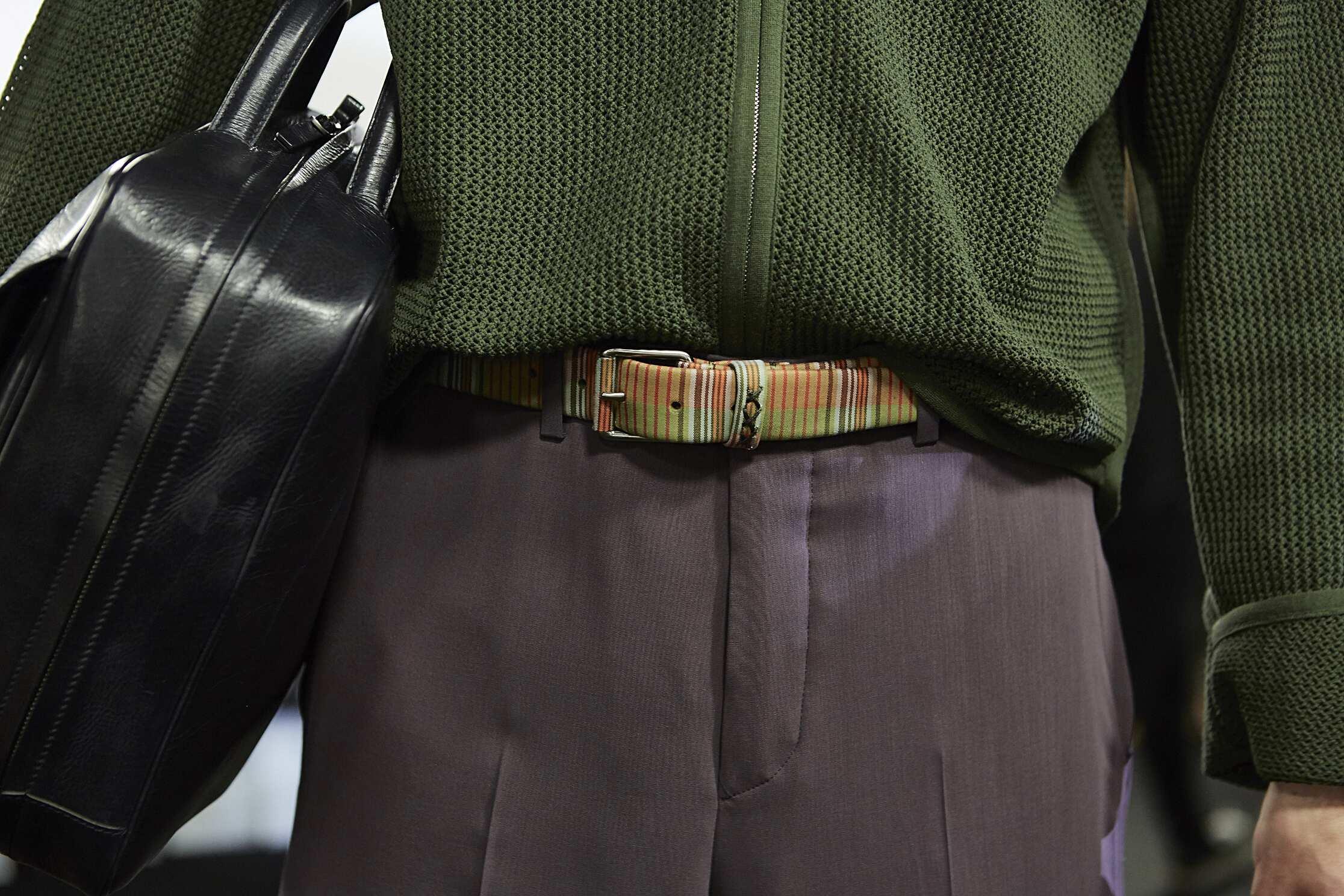 2016 Details Backstage Ermenegildo Zegna Couture