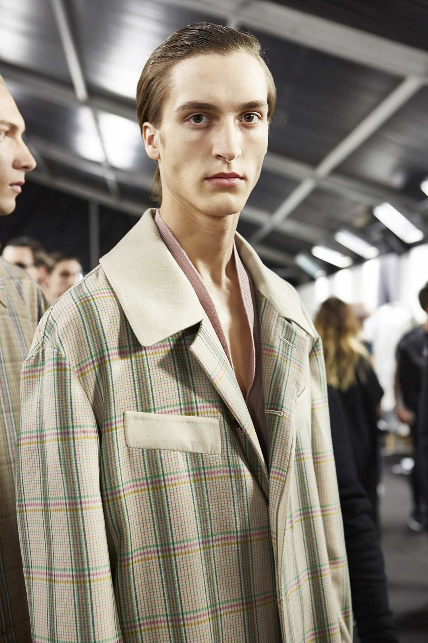2016 Ermenegildo Zegna Backstage Model