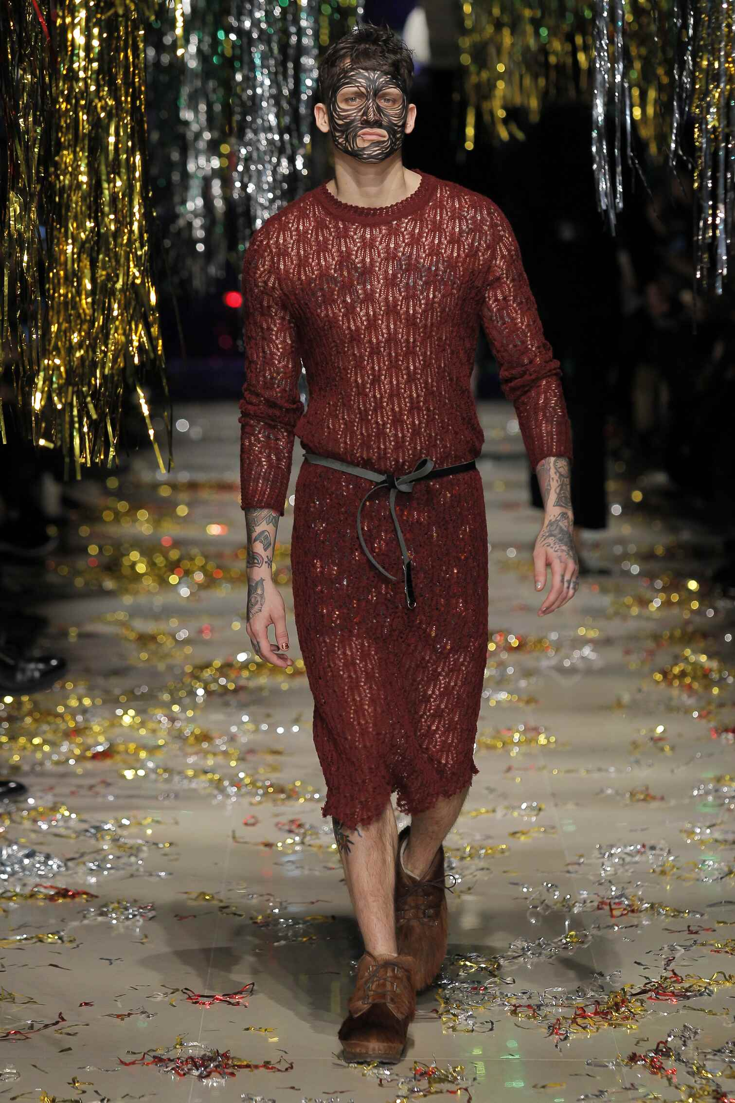 2016 Fall Fashion Man Vivienne Westwood Gold Label Collection
