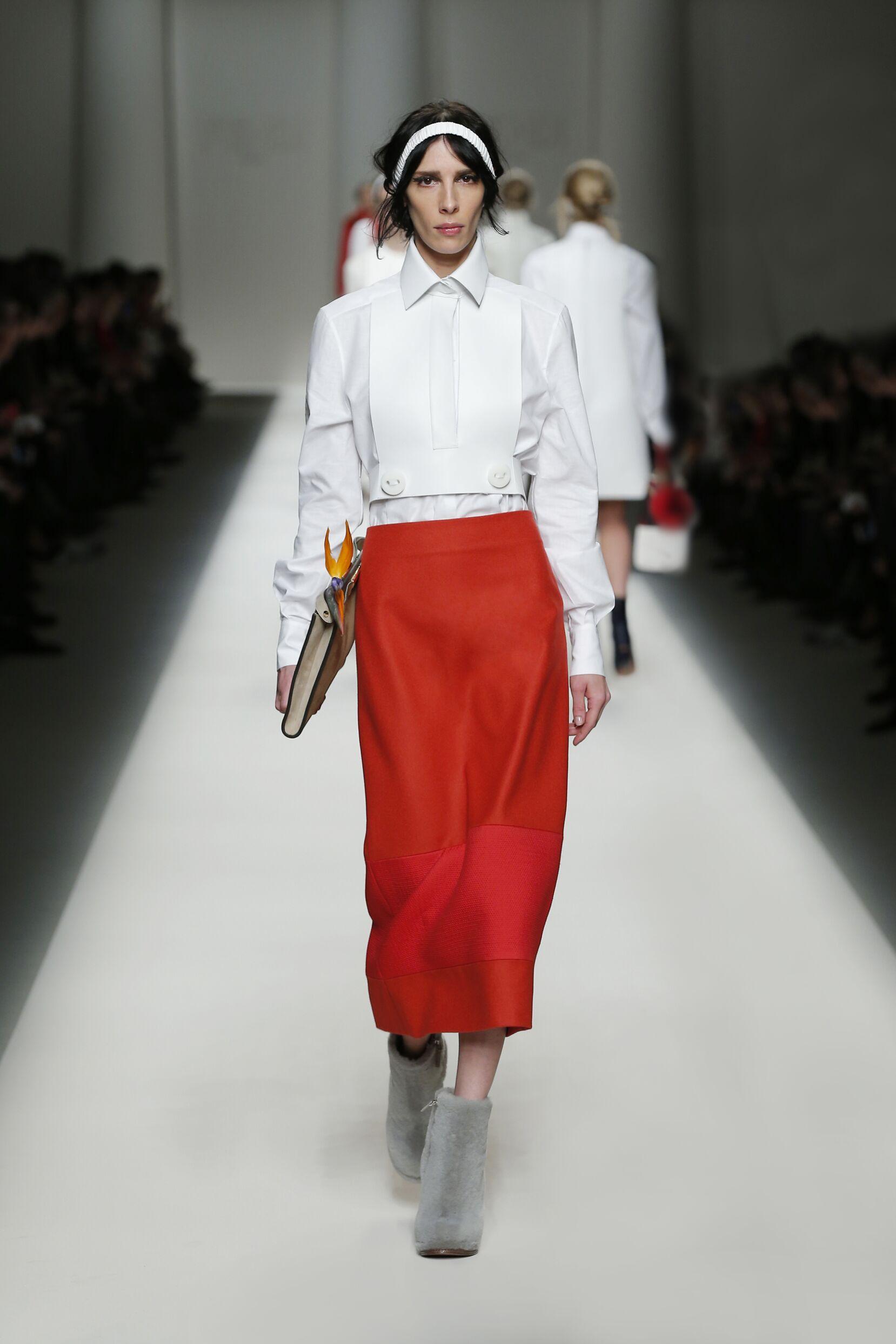 2016 Fall Fashion Woman Fendi Collection