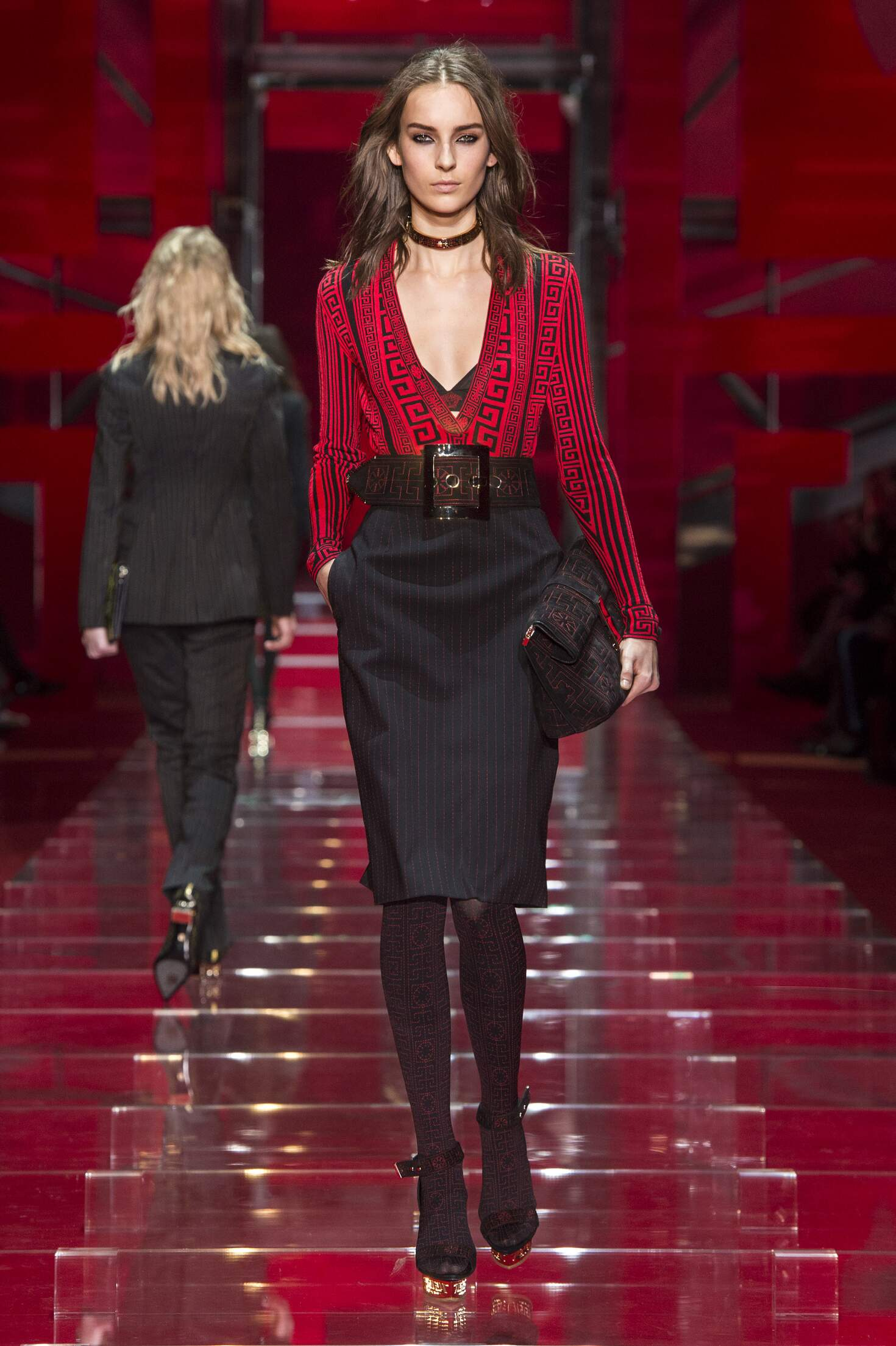 2016 Fall Fashion Woman Versace Collection