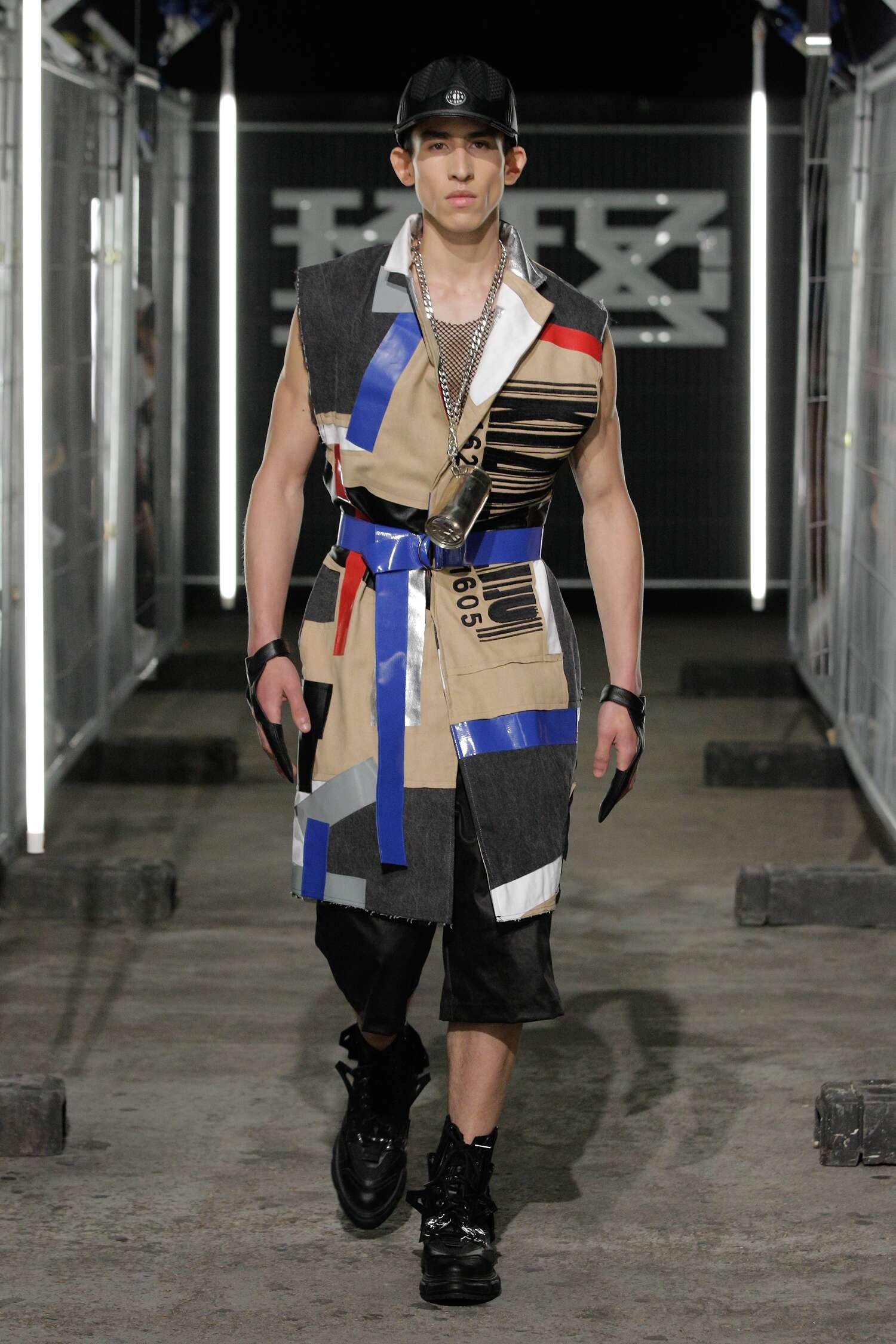 2016 Fashion Man Model KTZ Collection Catwalk