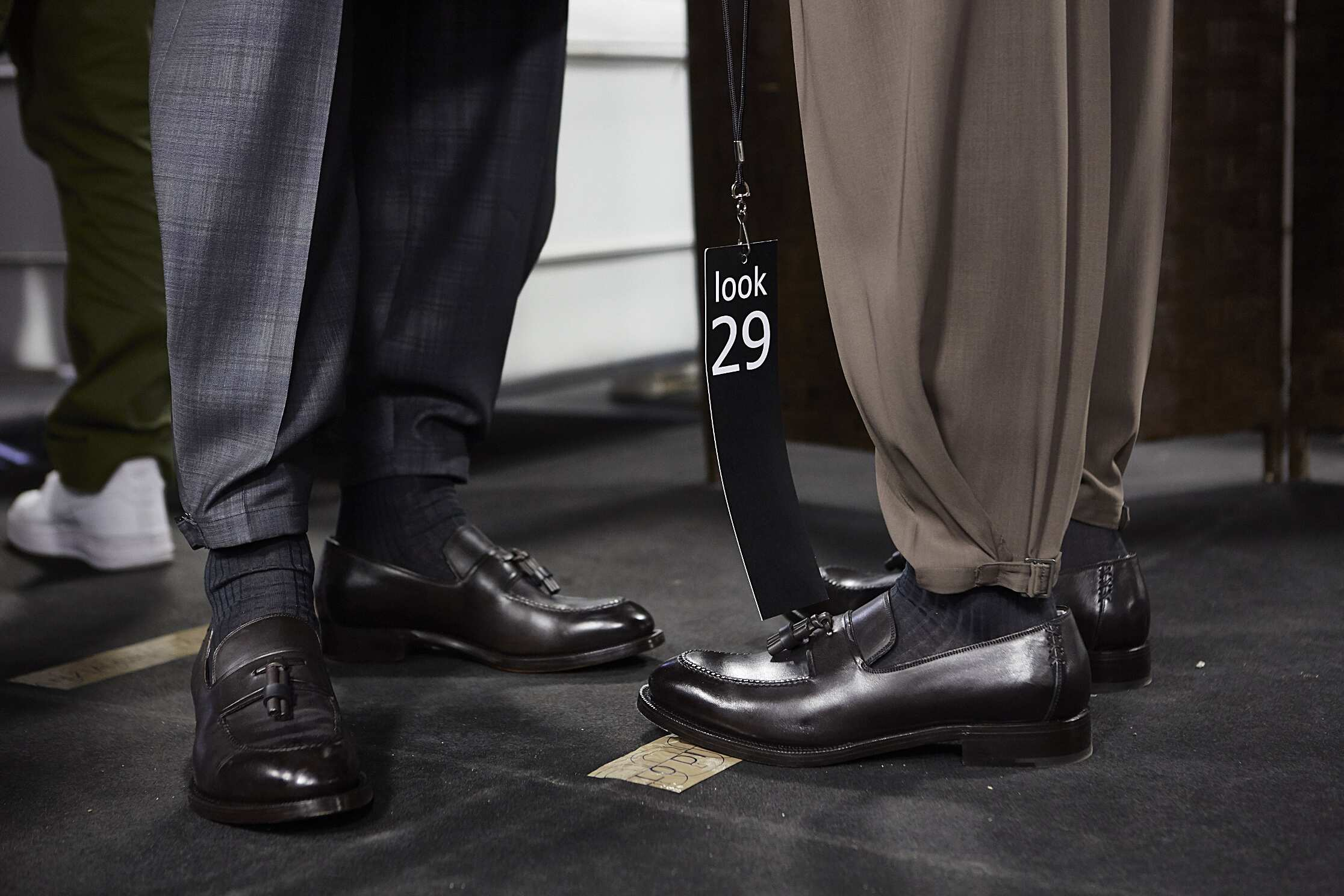2016 Shoes Backstage Ermenegildo Zegna Couture