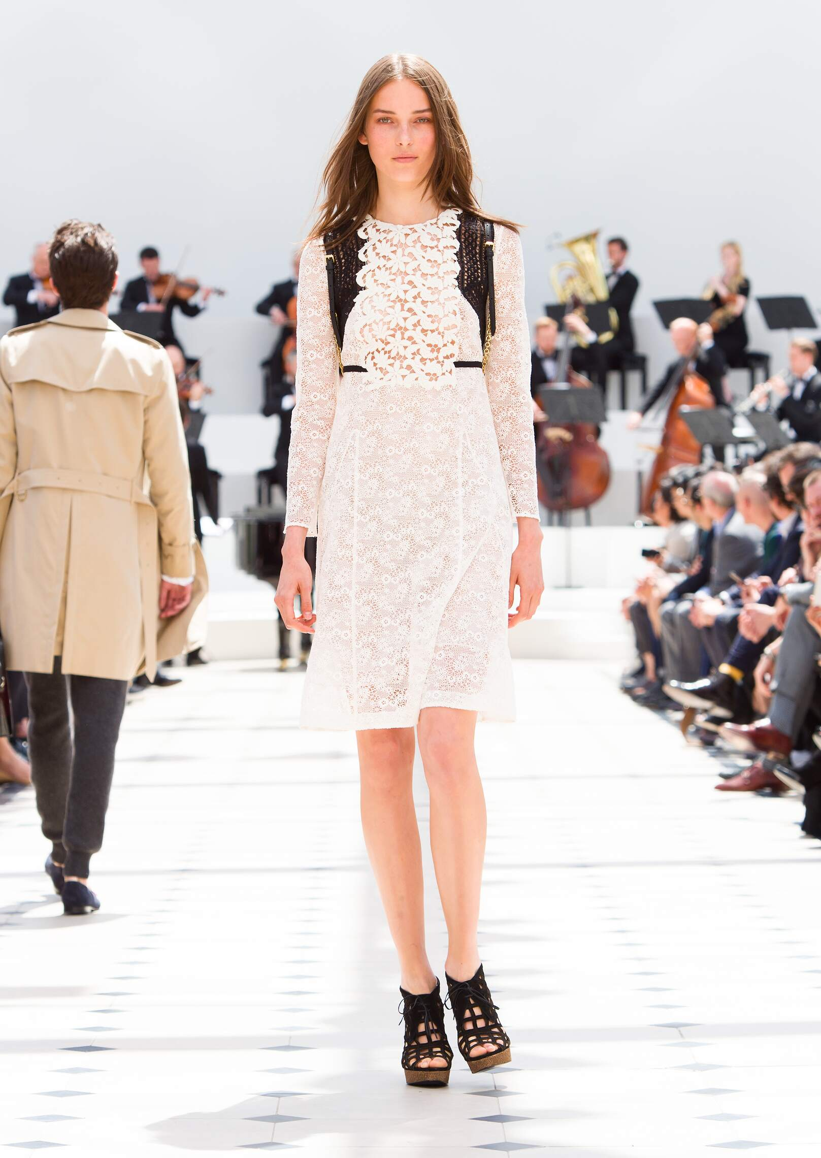 2016 Spring Fashion Woman Burberry Prorsum Collection