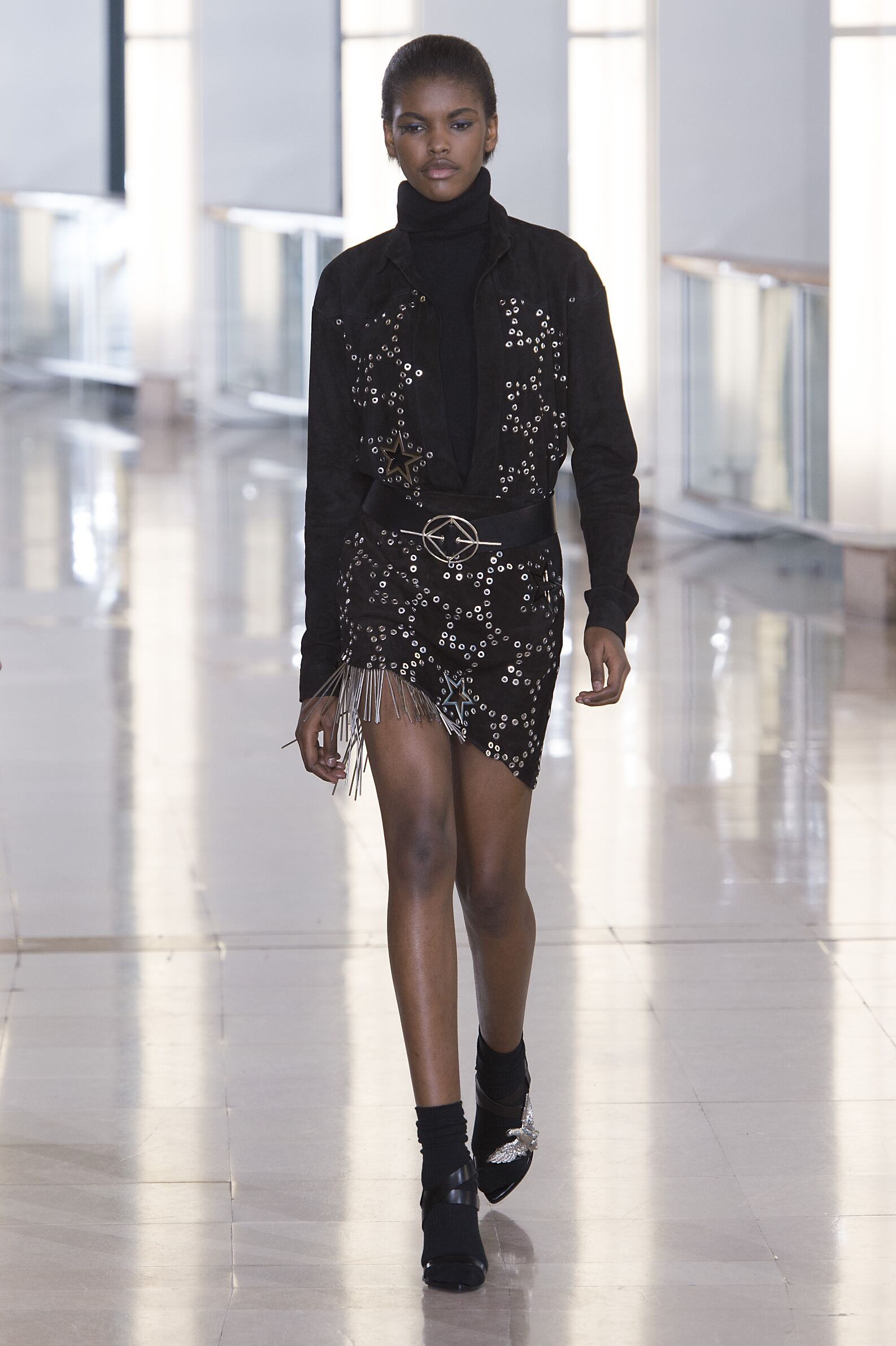 Anthony Vaccarello Collection Winter 2015 Catwalk