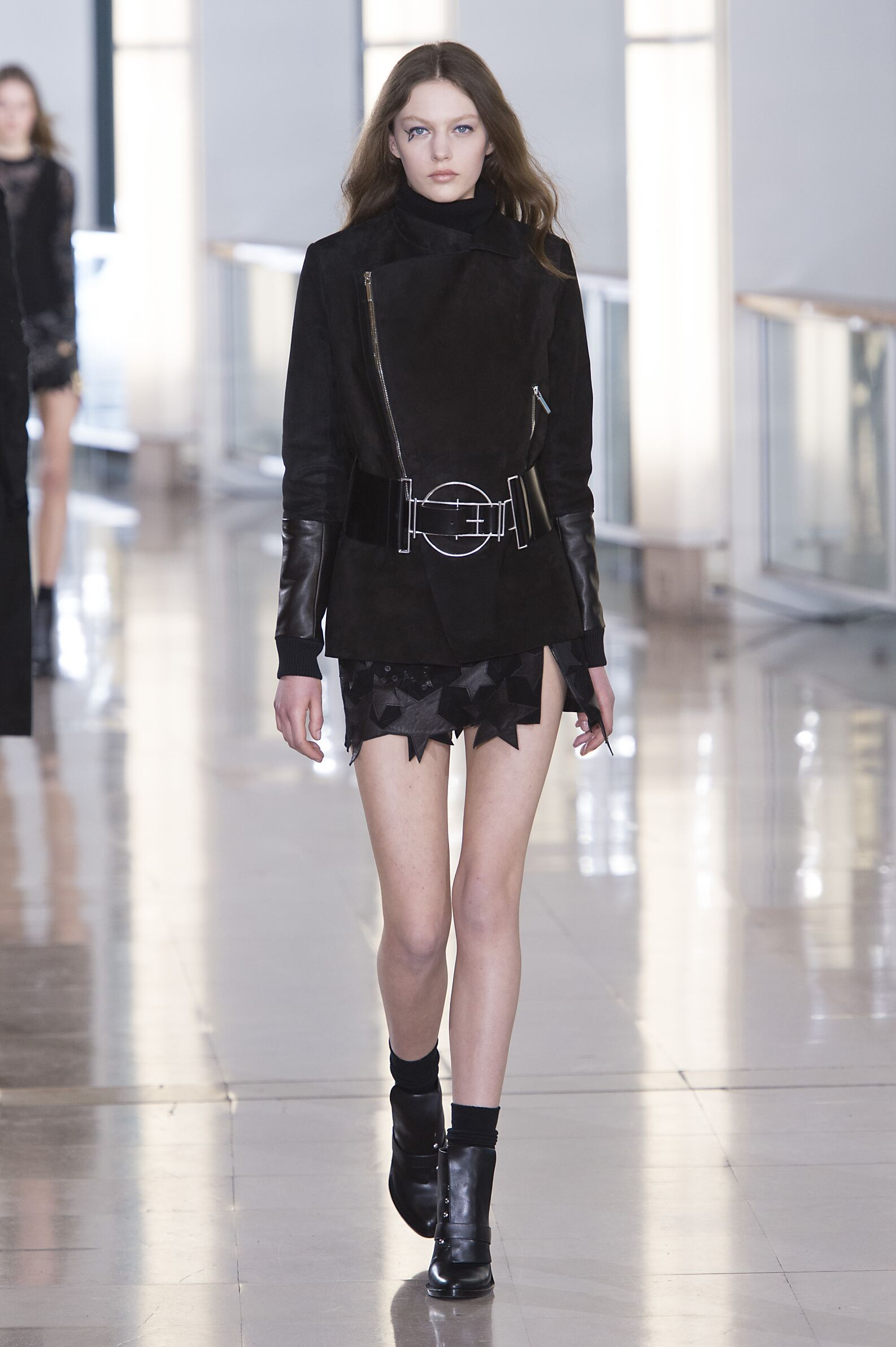 Anthony Vaccarello Fall Winter 2015 16 Womens Collection Paris Fashion Week