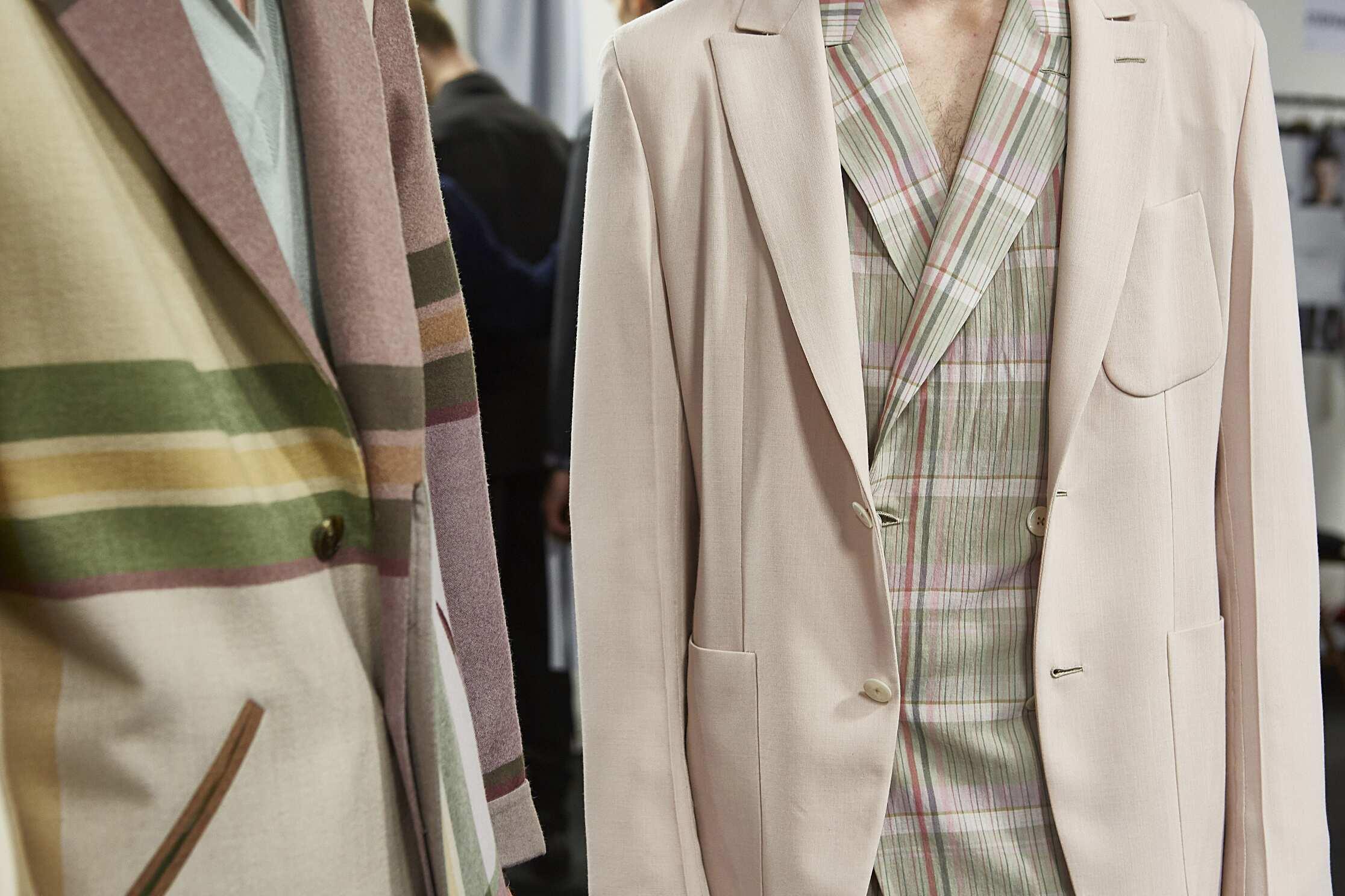 Backstage Details Ermenegildo Zegna Couture Milan
