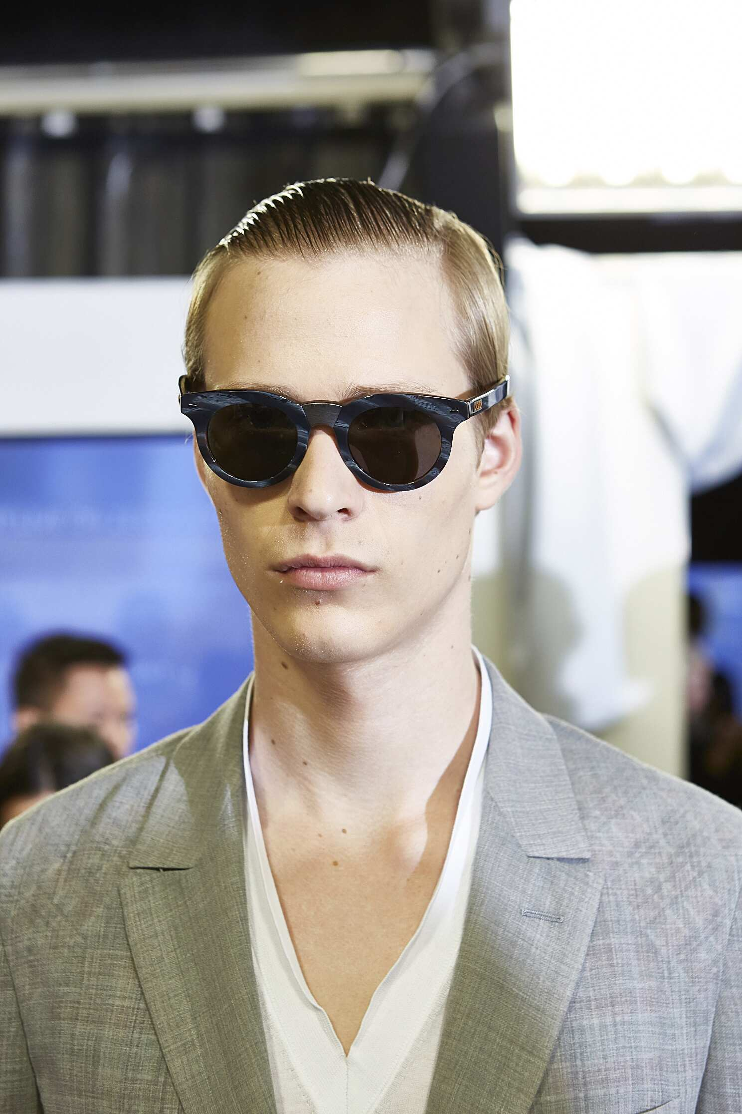 Backstage Ermenegildo Zegna Couture Model Milan
