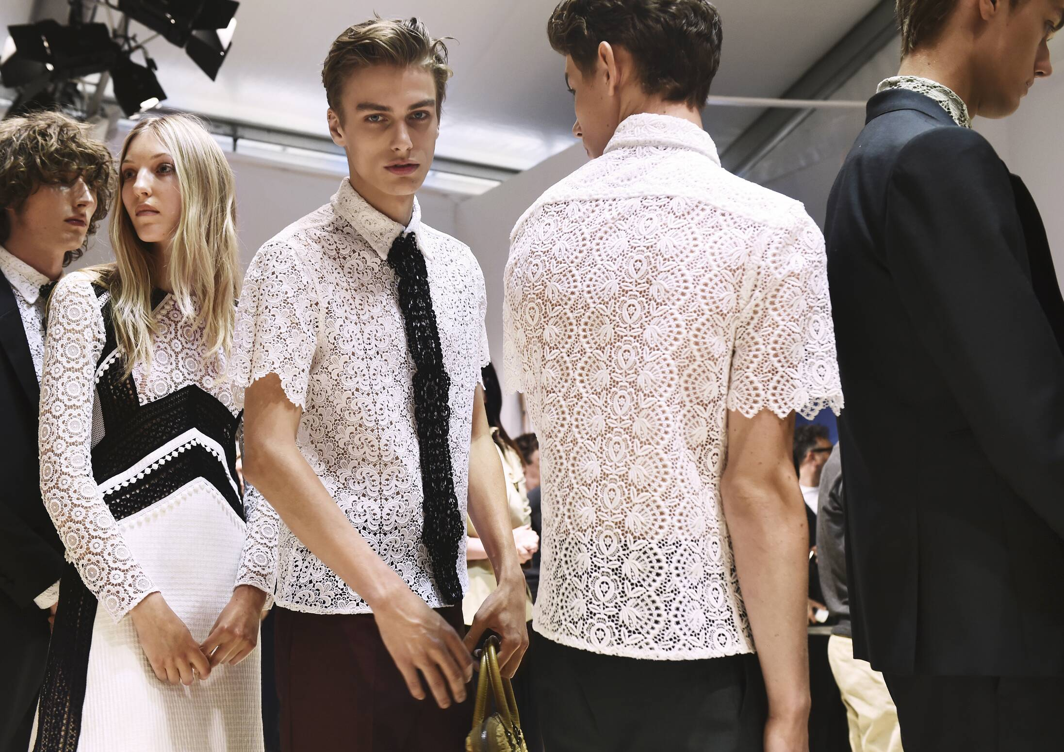 Backstage Models Burberry London