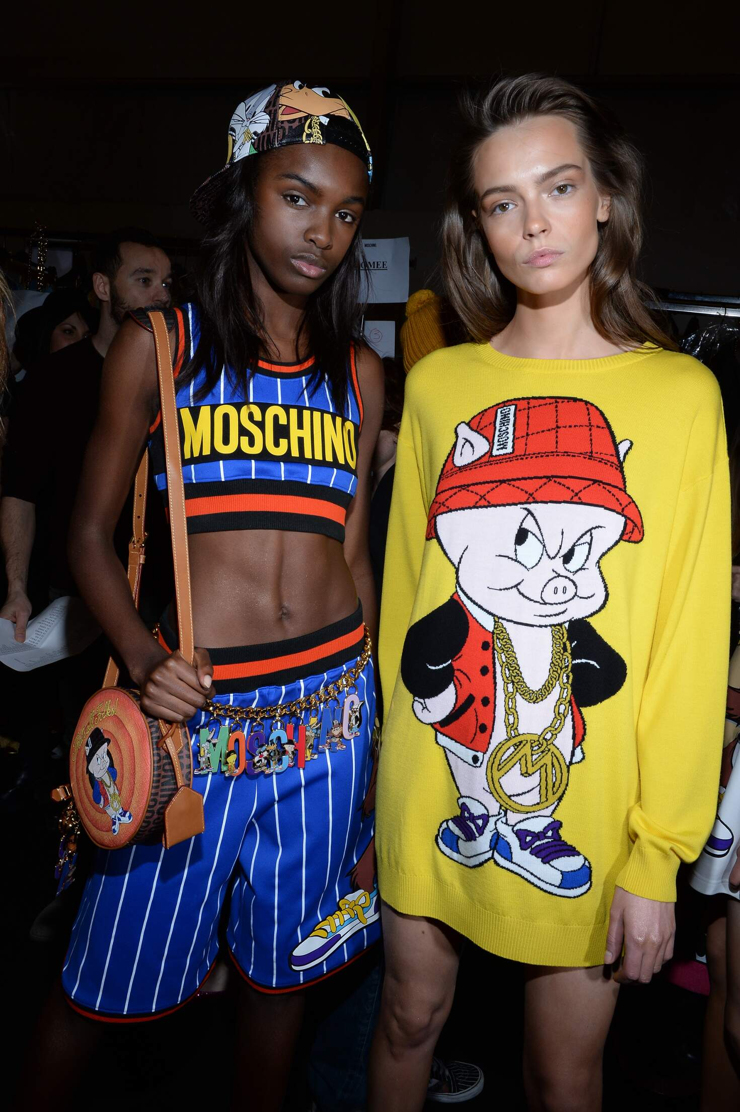 Backstage Moschino 2015 2016