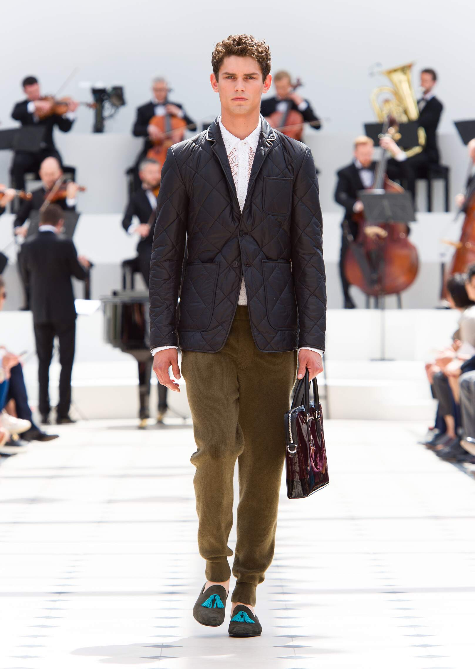 Burberry Prorsum Collection Catwalk