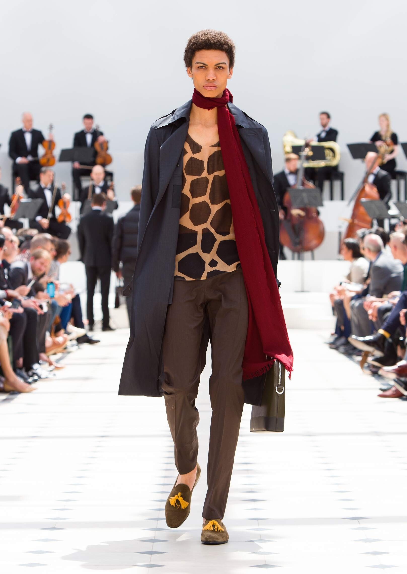 Burberry Prorsum Collection London Fashion Week Menswear