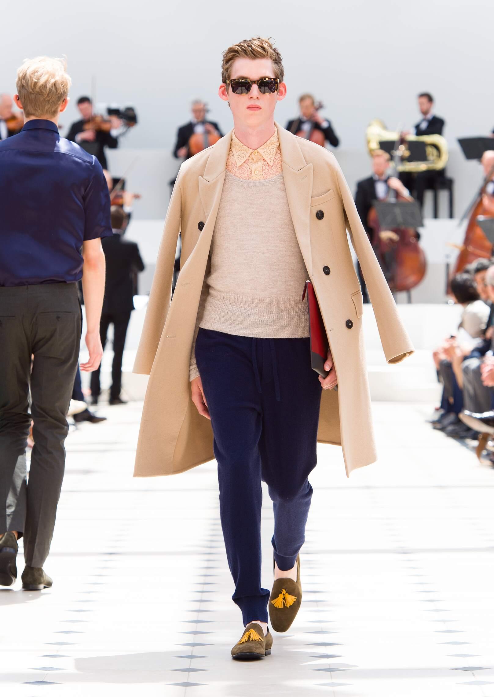 Burberry Prorsum Collection Man London Fashion Week