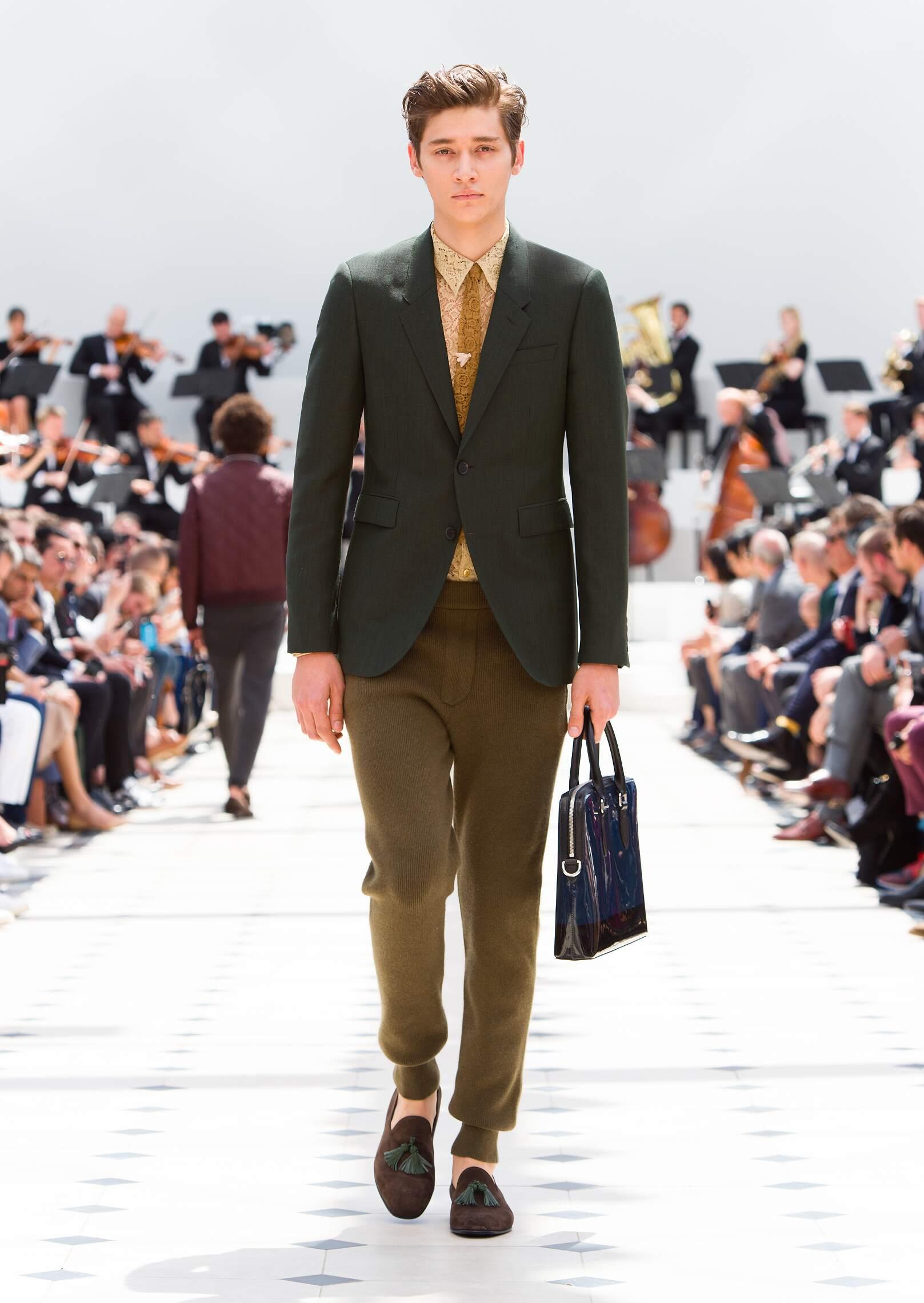 Burberry Prorsum Men's Collection 2016