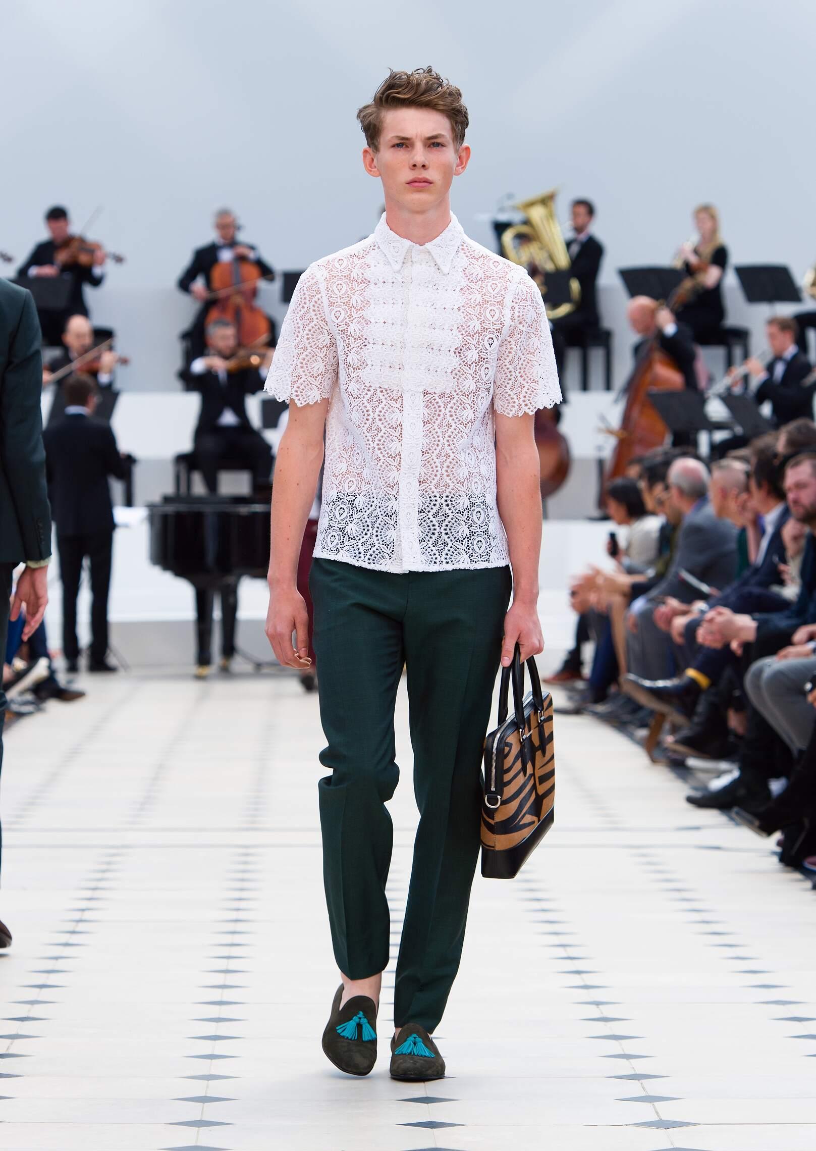 Burberry Prorsum Spring Summer 2016 Men's Collection London Fashion Week
