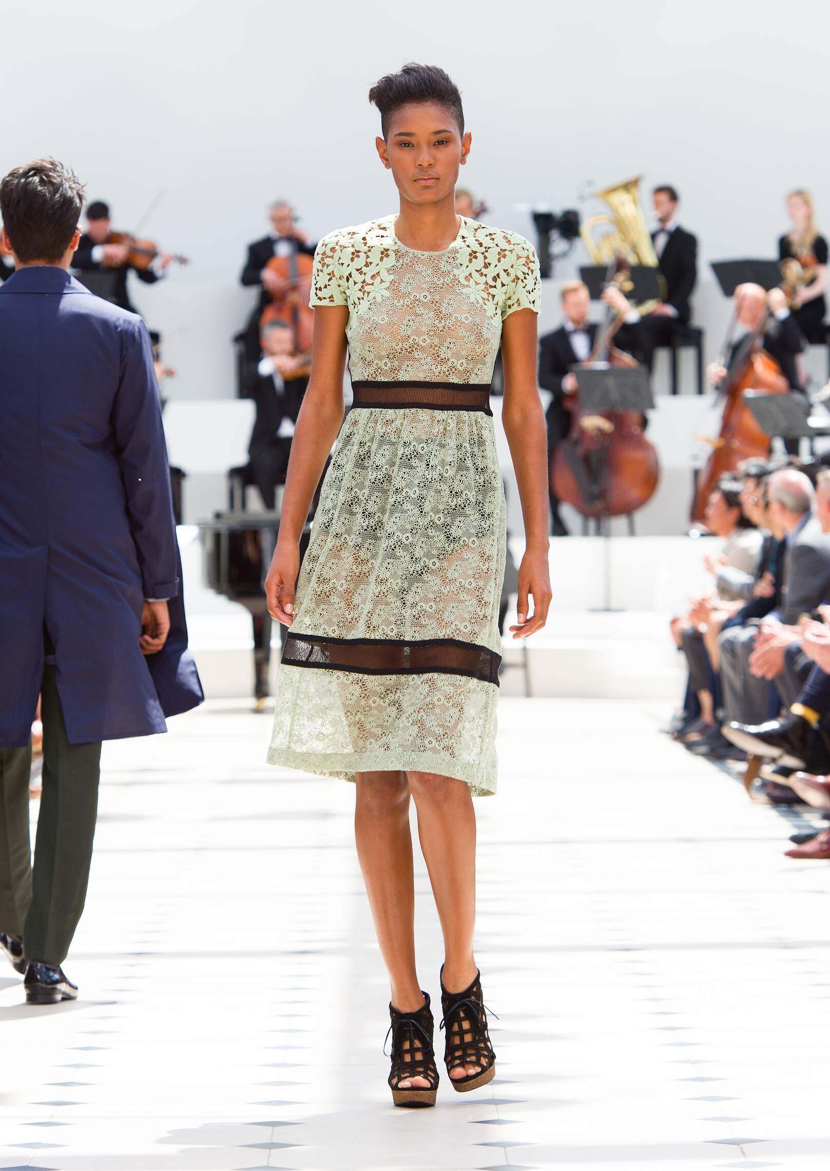 Burberry Prorsum Fashion Show Spring Summer