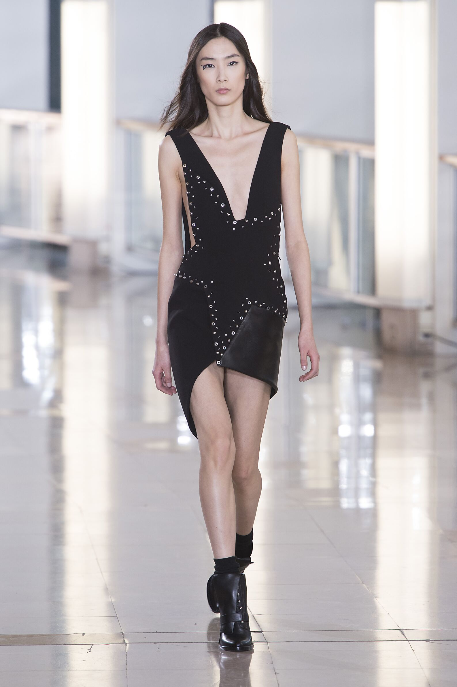 Catwalk Anthony Vaccarello Womenswear Collection Winter 2015