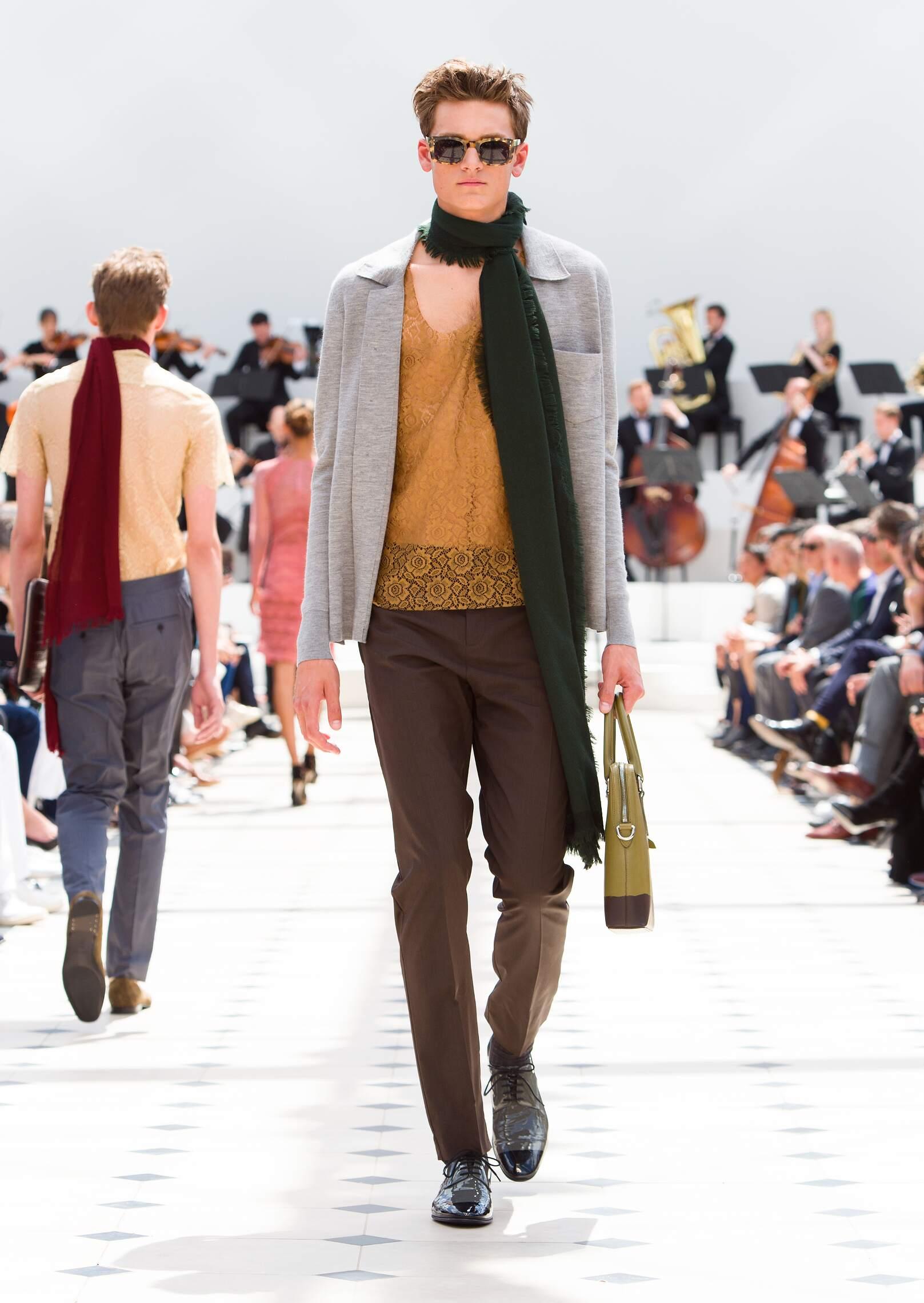 Catwalk Burberry Prorsum Spring Summer 2016 Men's Collection London Fashion Week